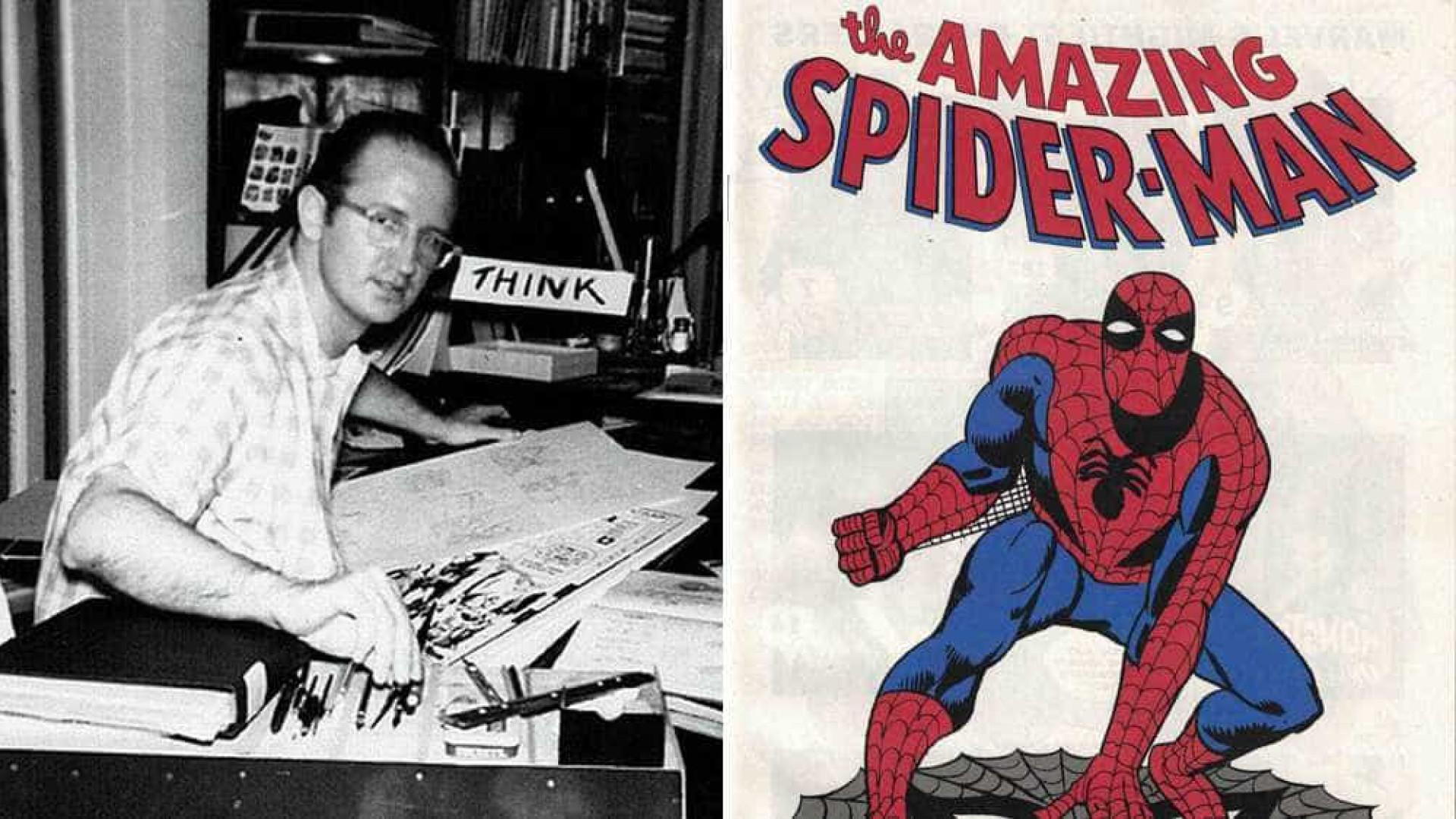 Morre Steve Ditko, cocriador do Homem-Aranha e Doutor Estranho
