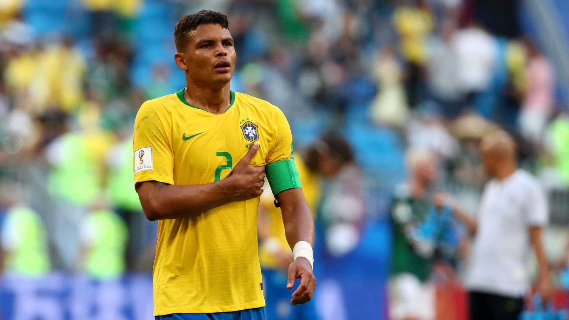 Thiago Silva critica regulamento, gramados e logística da Copa América
