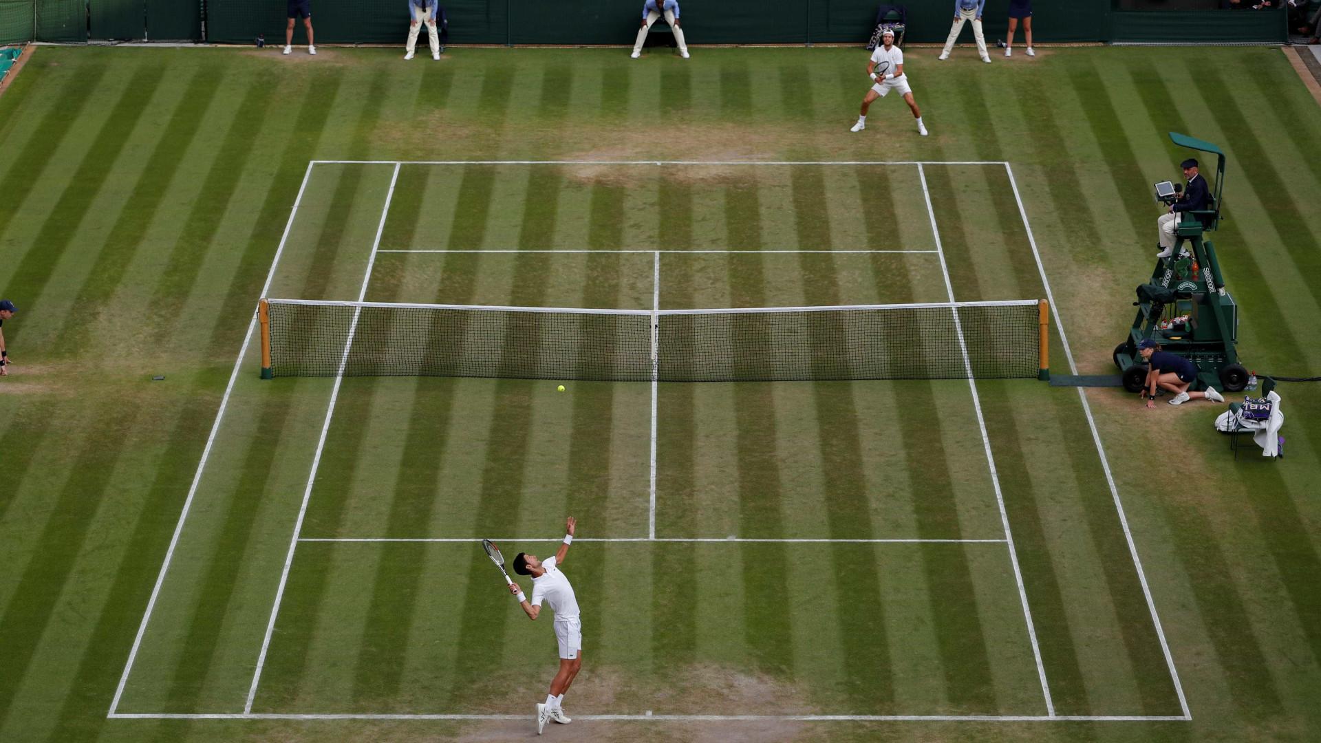 Organização de Wimbledon admite cancelar edição deste ano