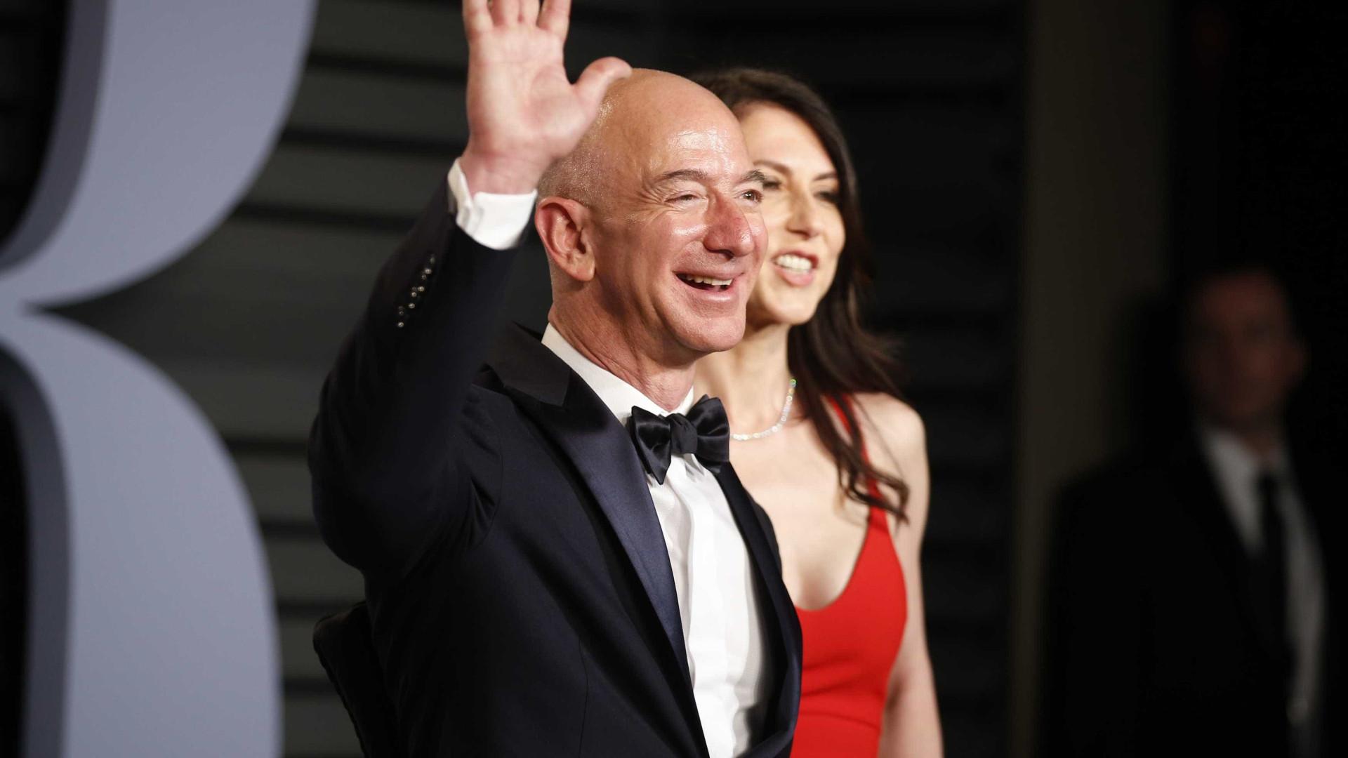 Dono da Amazon tem US$ 50 bi a mais do que Bill Gates