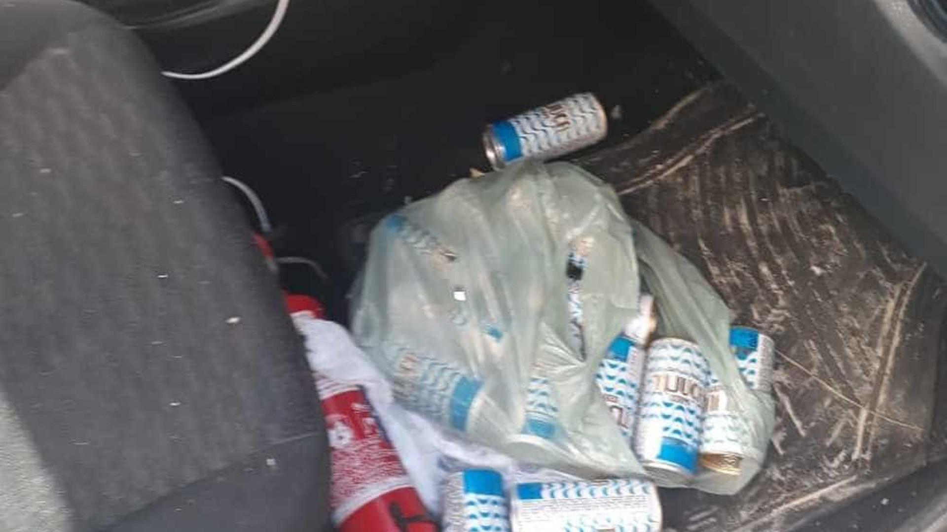 Solto filho de vereador preso bêbado após atropelar ambulante