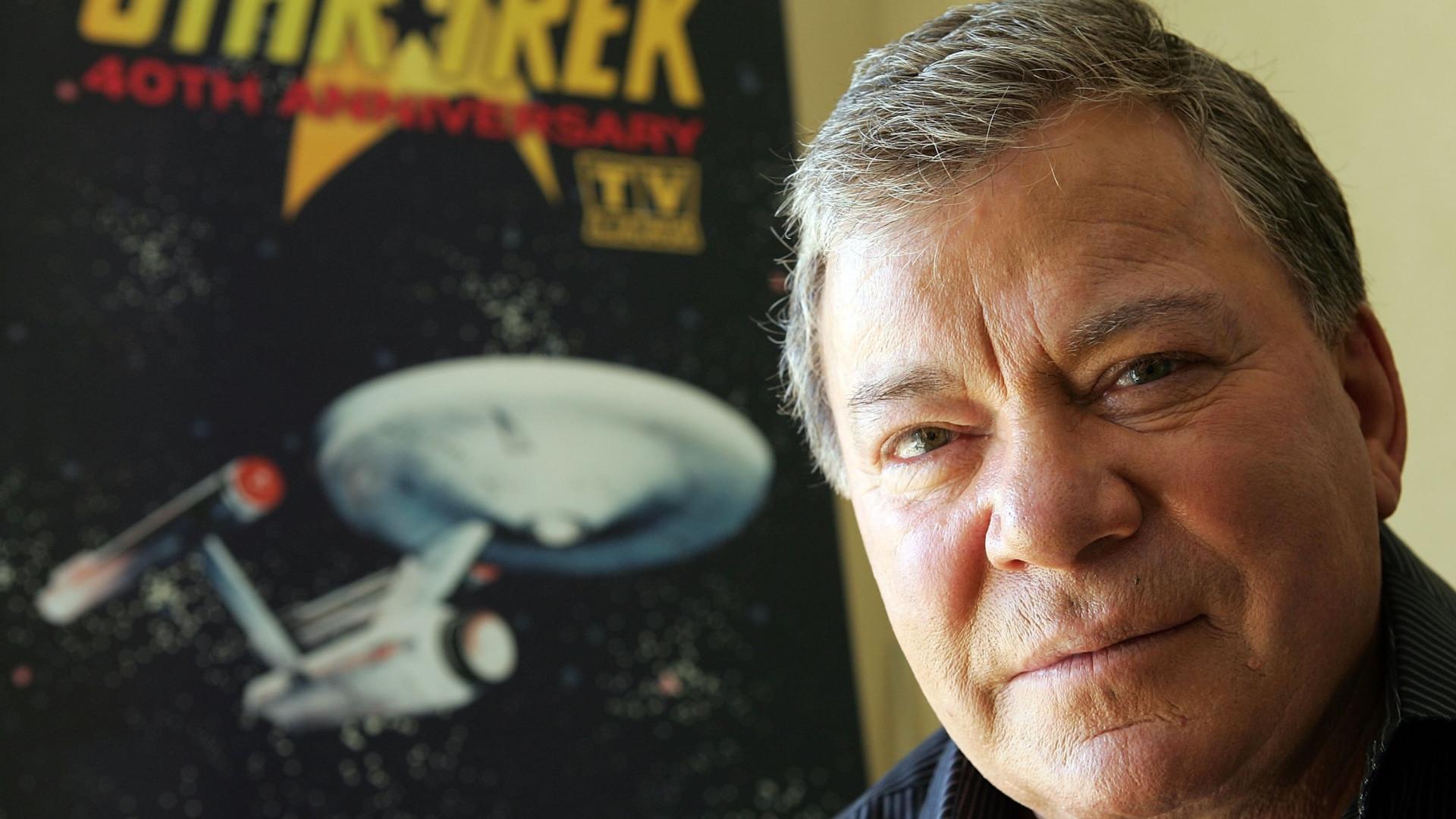 Ator que interpretava o Capitão Kirk irá pela primeira vez ao espaço
