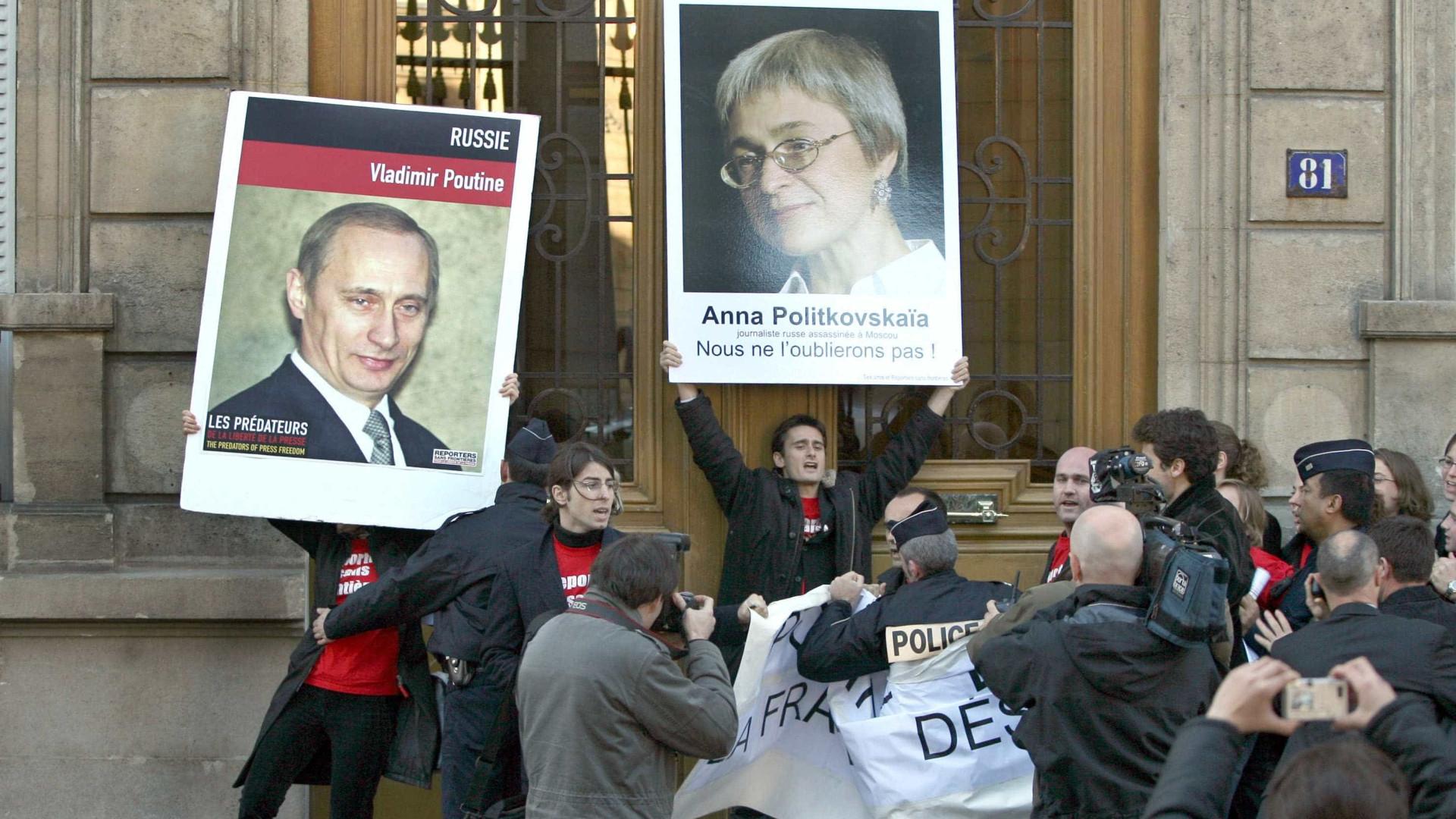 Corte de Estrasburgo condena Rússia pelo caso Politkovskaia