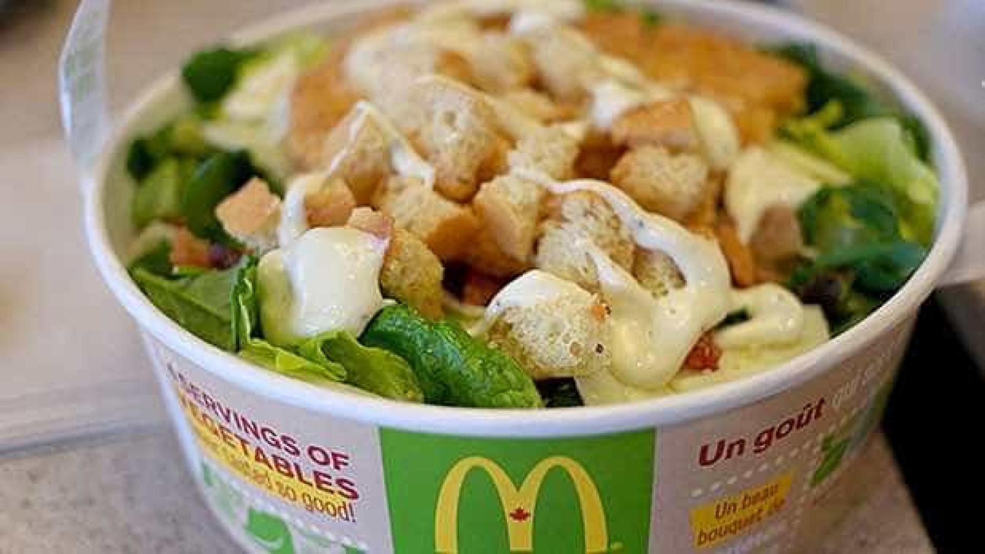 395 pessoas são infectadas por salada do McDonald's