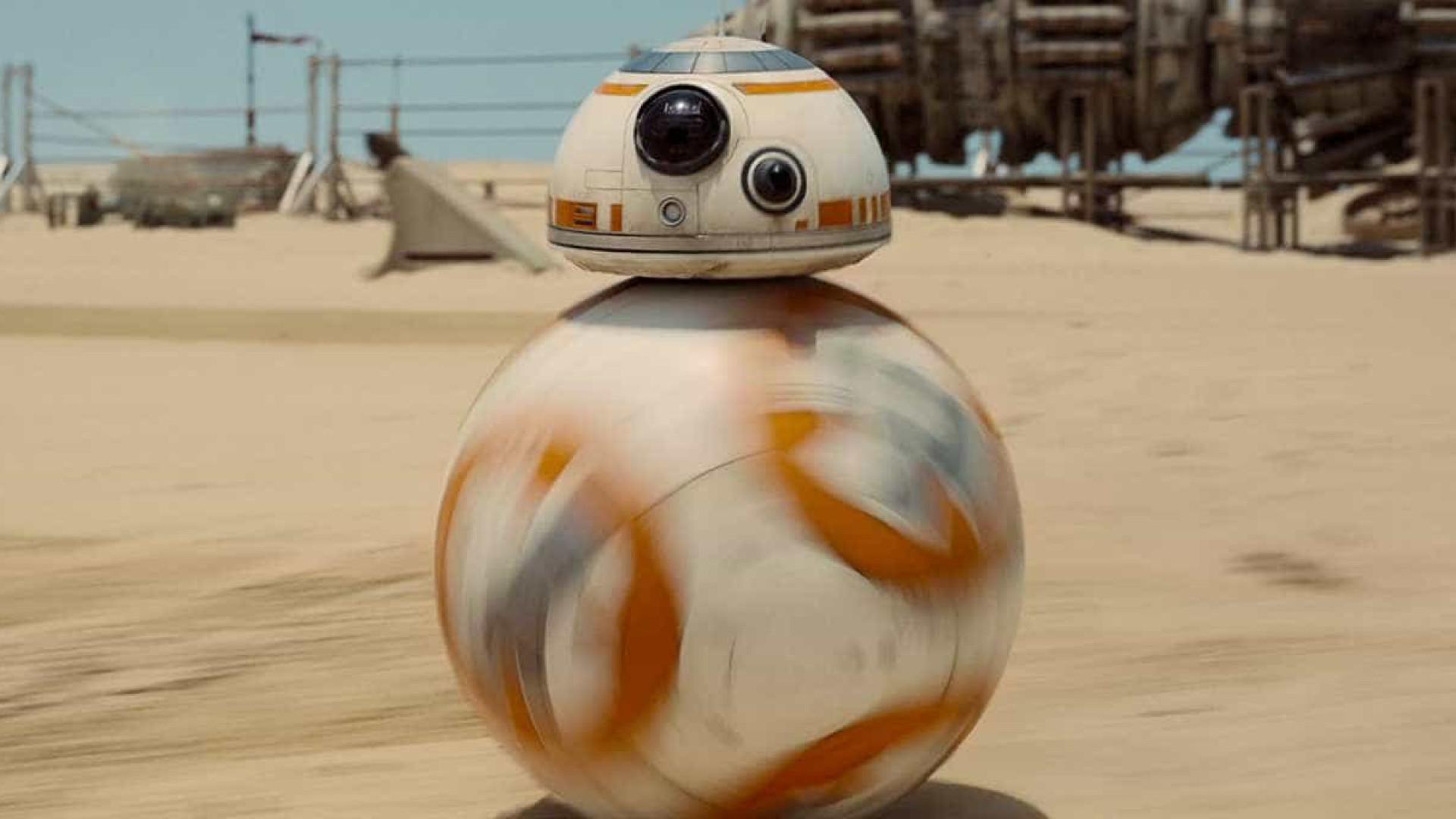 Ator confirma volta do robô BB-8 no filme 'Star Wars Episódio 9'