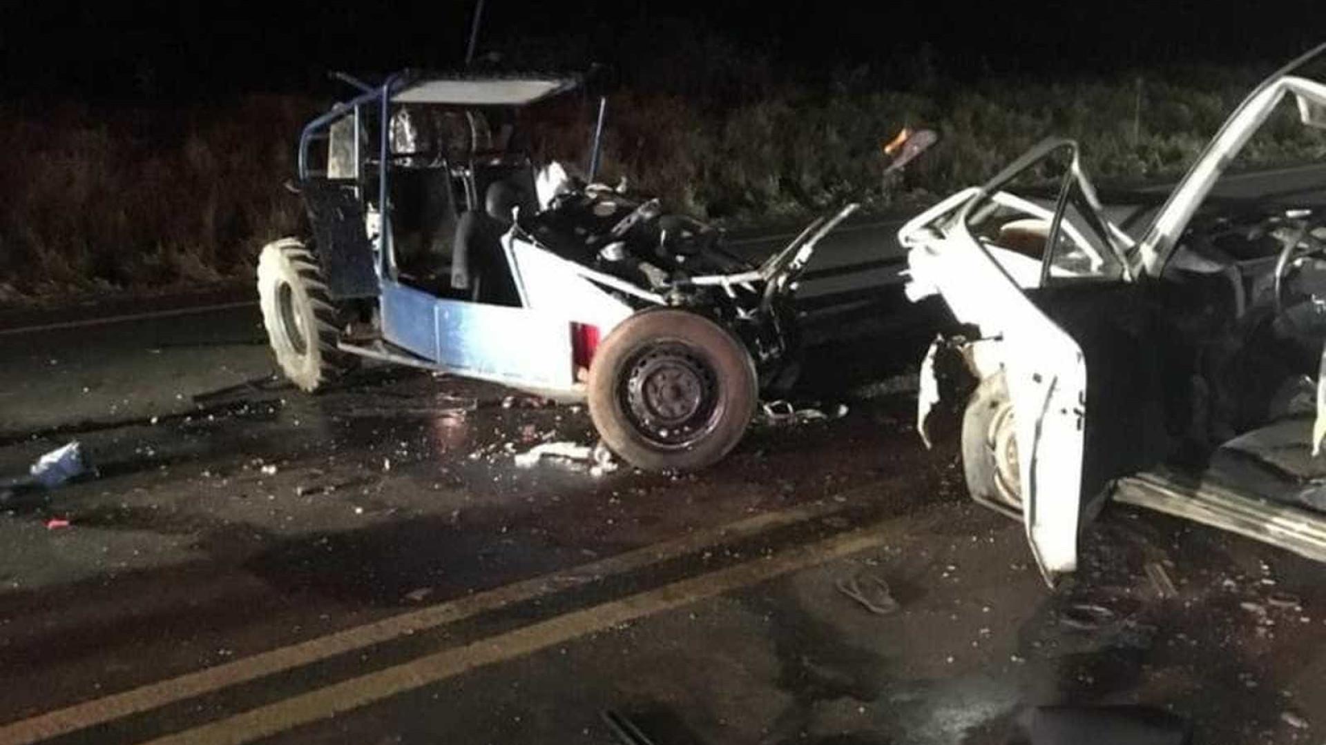 Pai e filho morrem em acidente com motorista bêbado