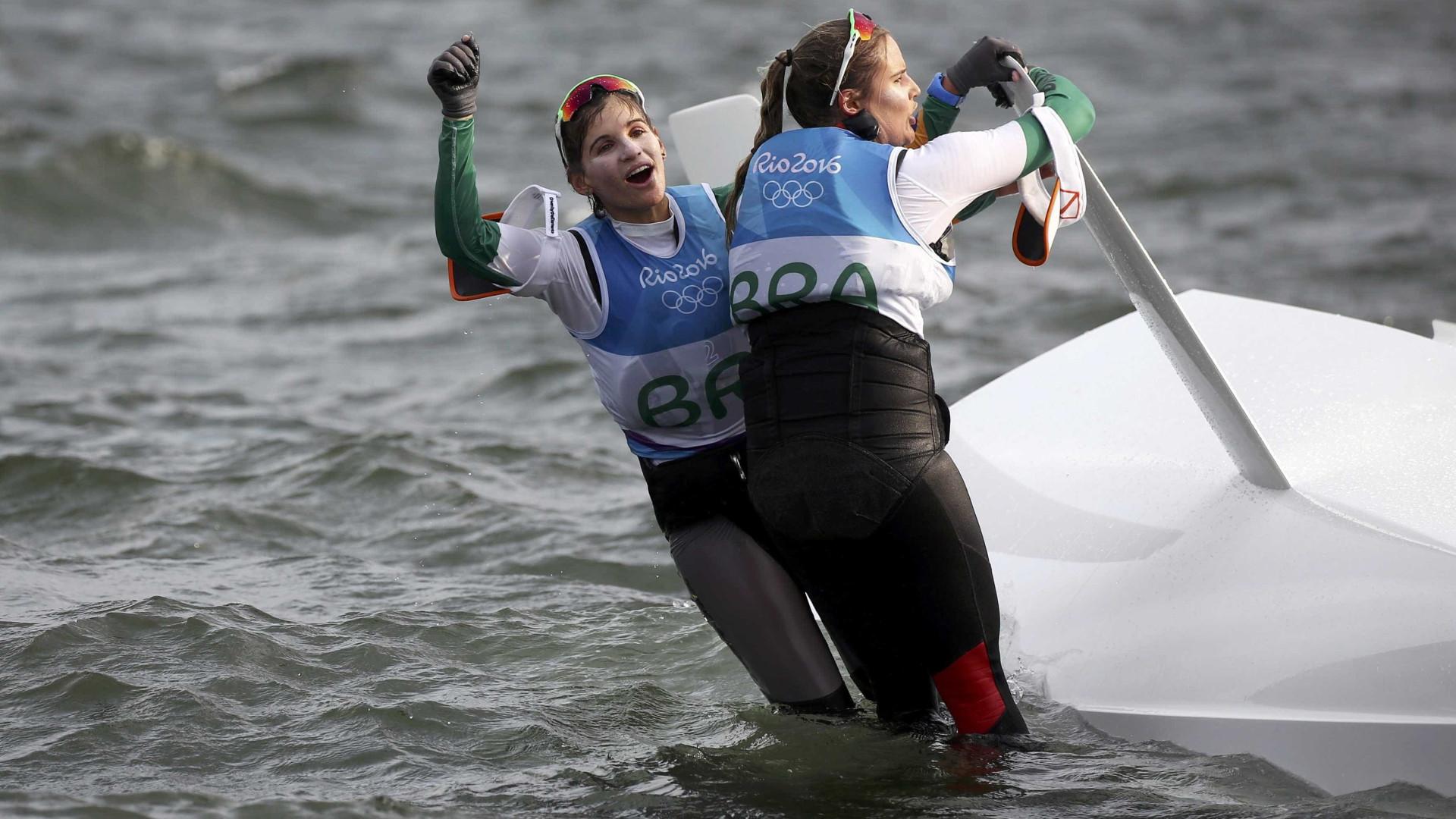 Na Dinamarca, Brasil tem pior desempenho na história em Mundial de vela