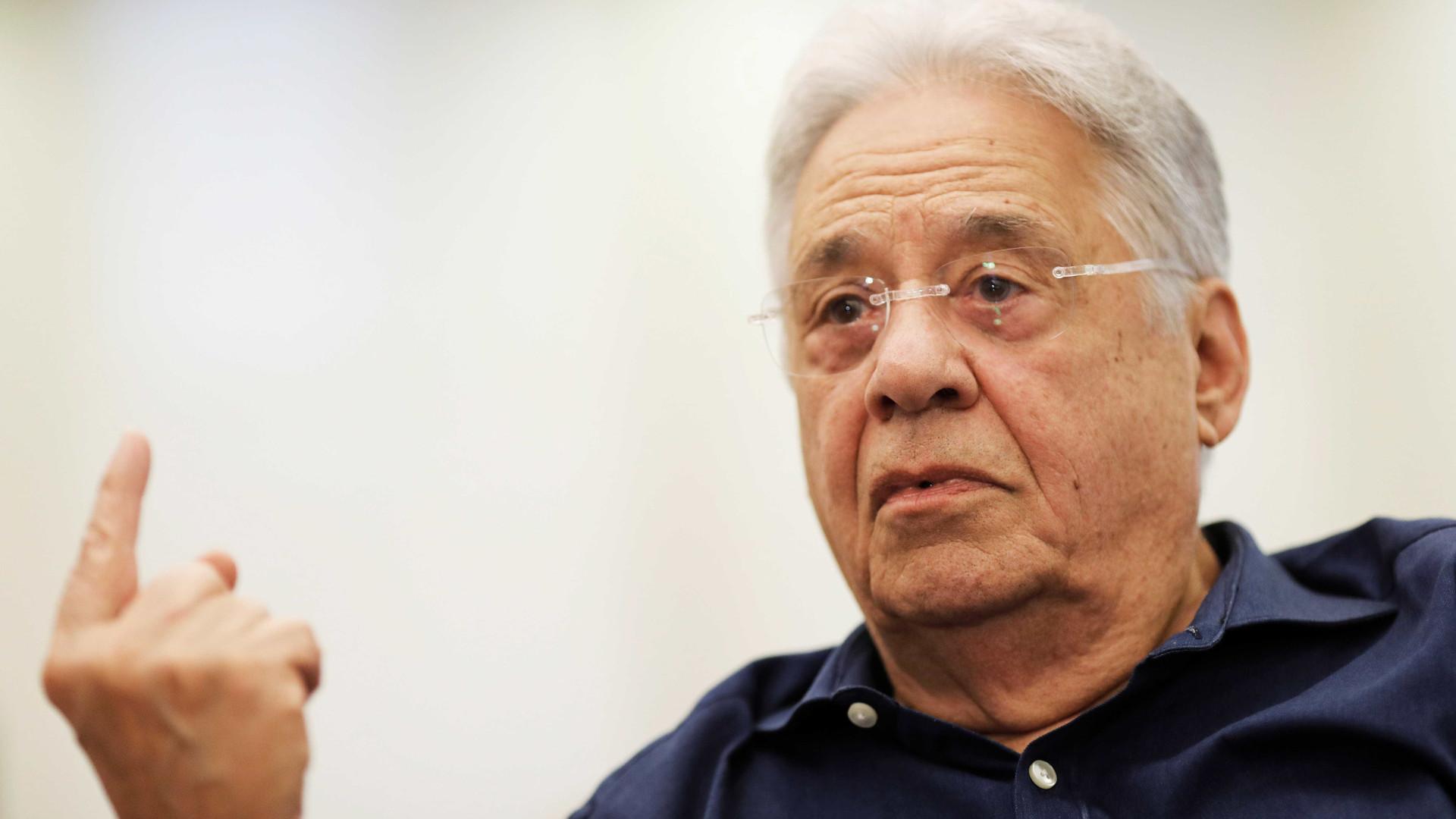 FHC diz a tucanos que voto em Lira significa adeus às expectativas de ganhar as próximas eleições