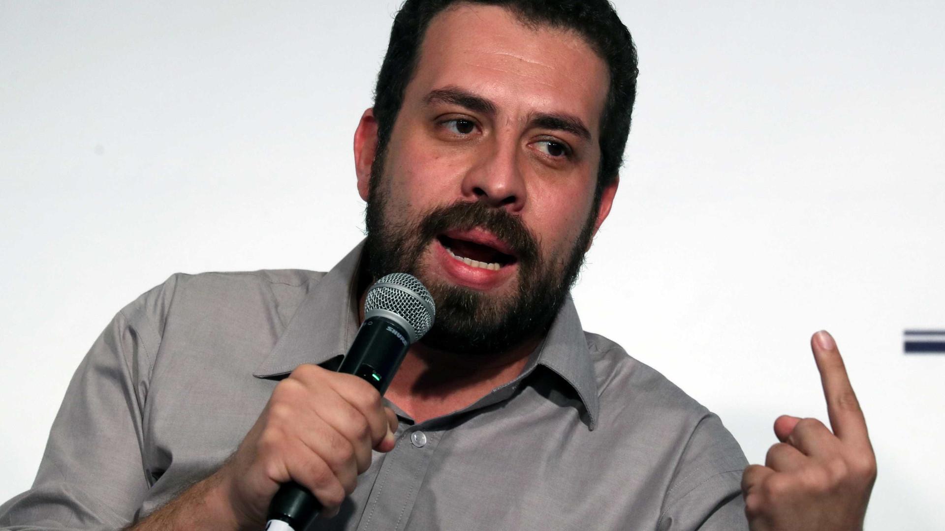 Boulos vai à polícia registrar ameaças de bolsonaristas