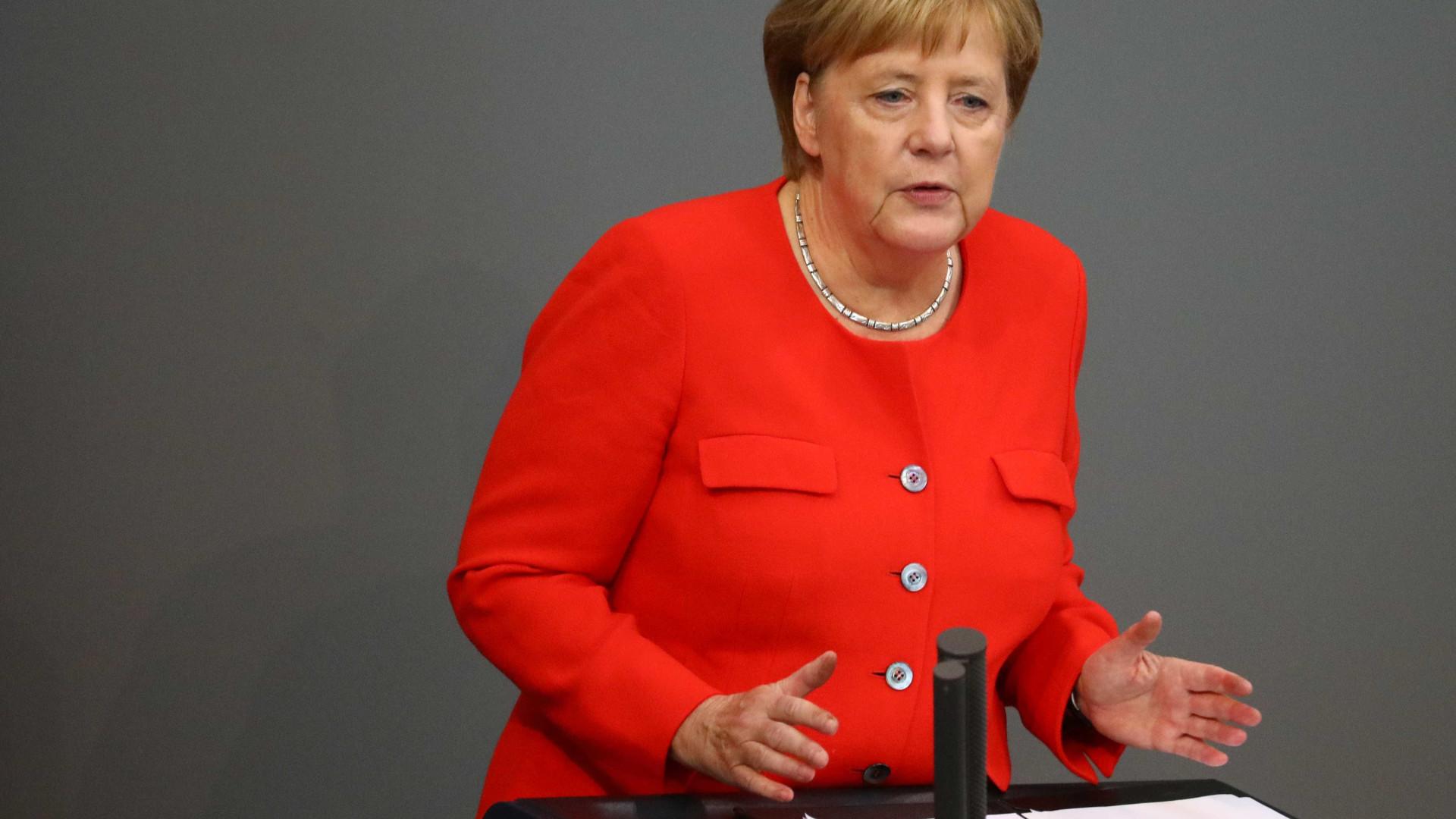 Merkel vai confrontar Bolsonaro por desmate