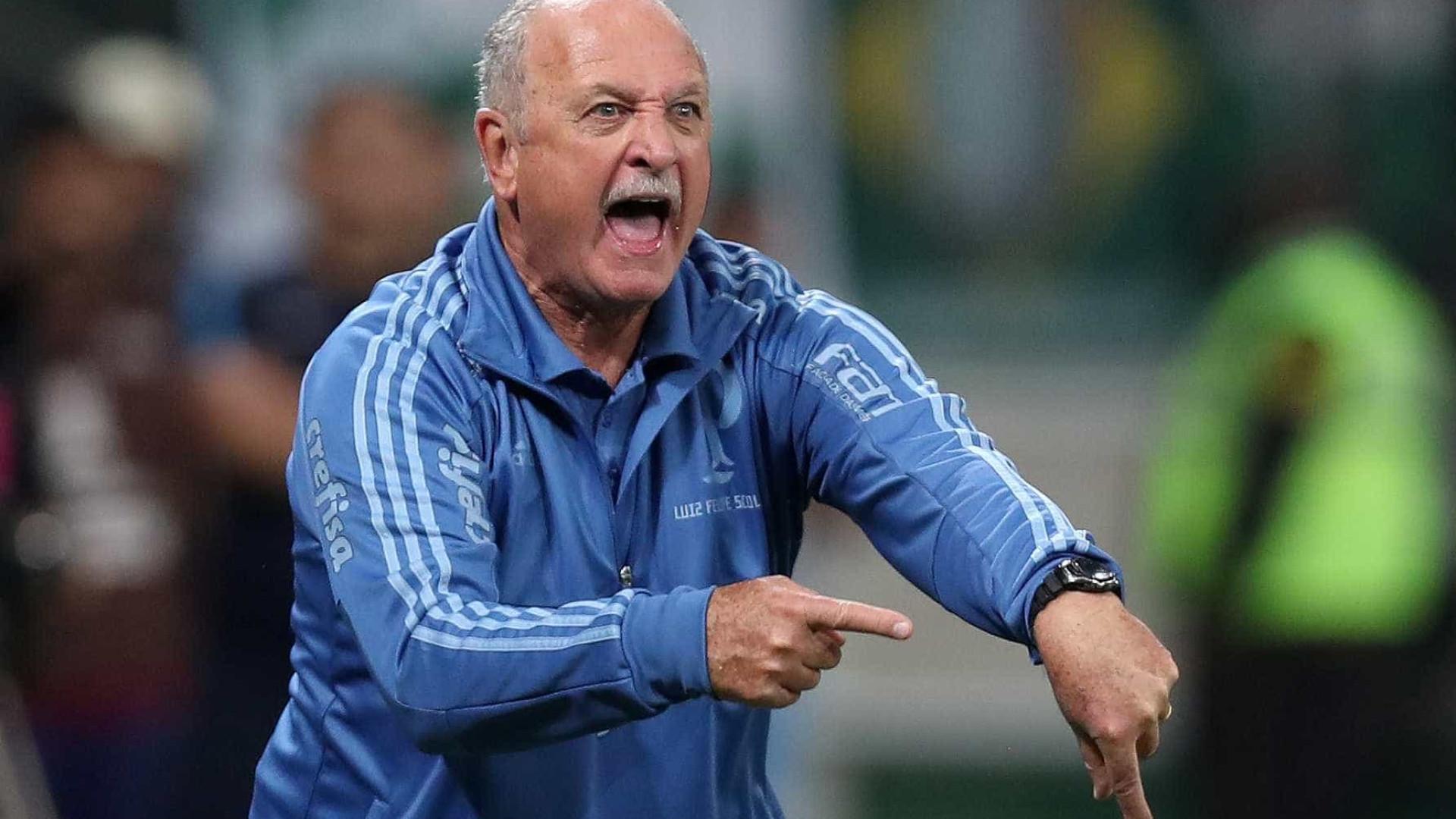 Queda de rendimento pressiona Felipão no Palmeiras