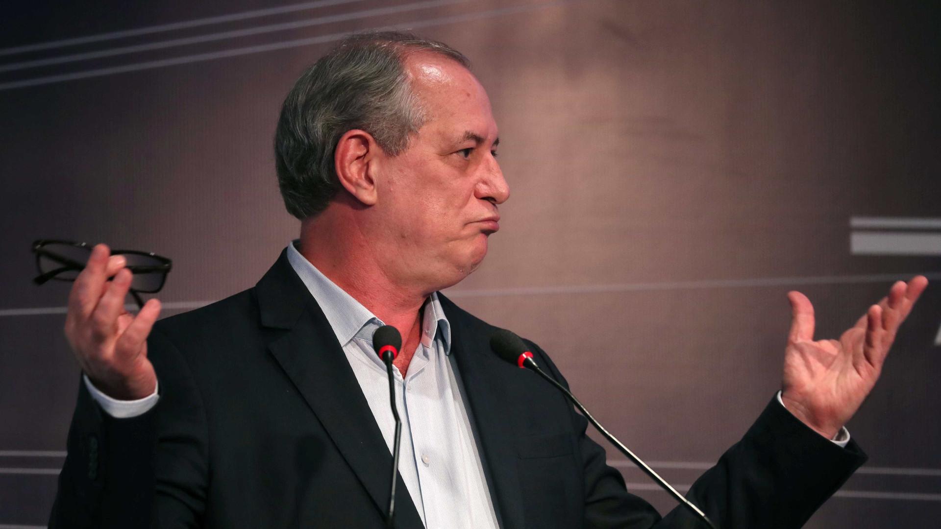 Ciro chama Bolsonaro de 'nazista filho da p***' durante discurso; vídeo