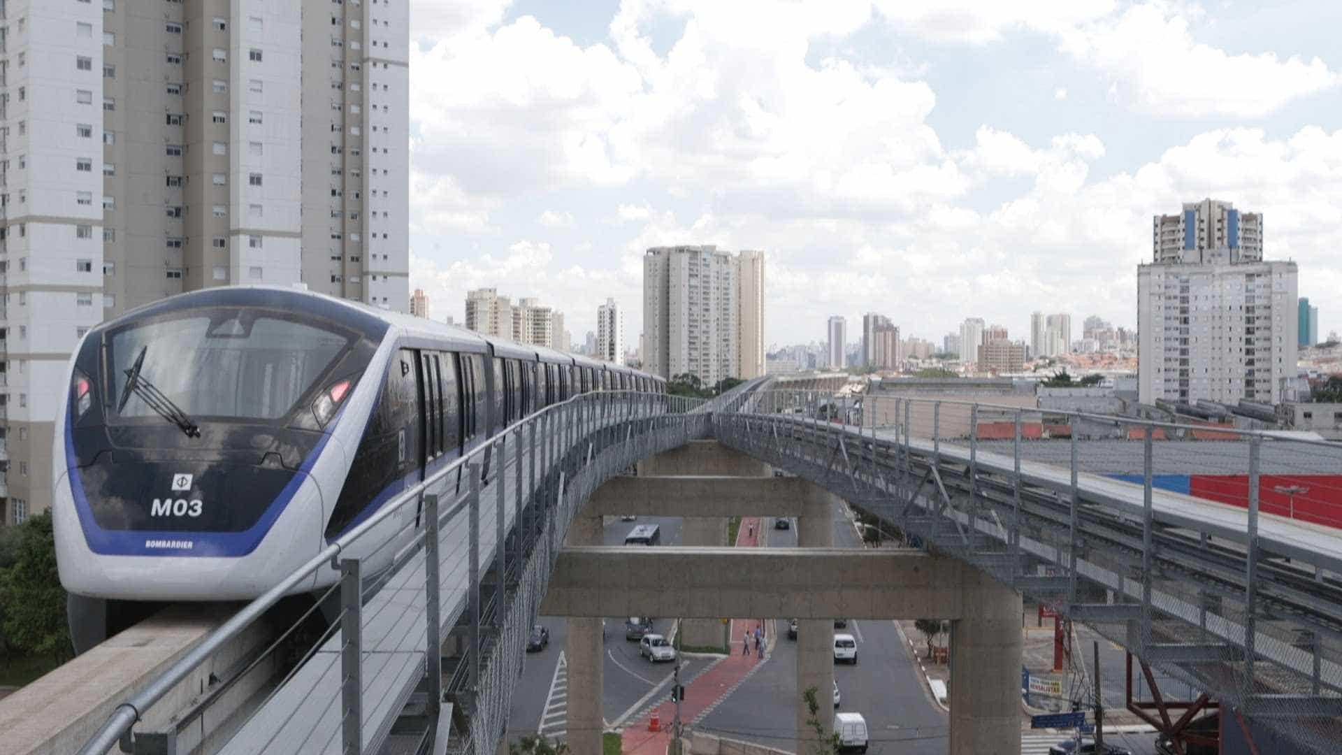 Governo de SP já planeja trocar monotrilho do ABC por BRT