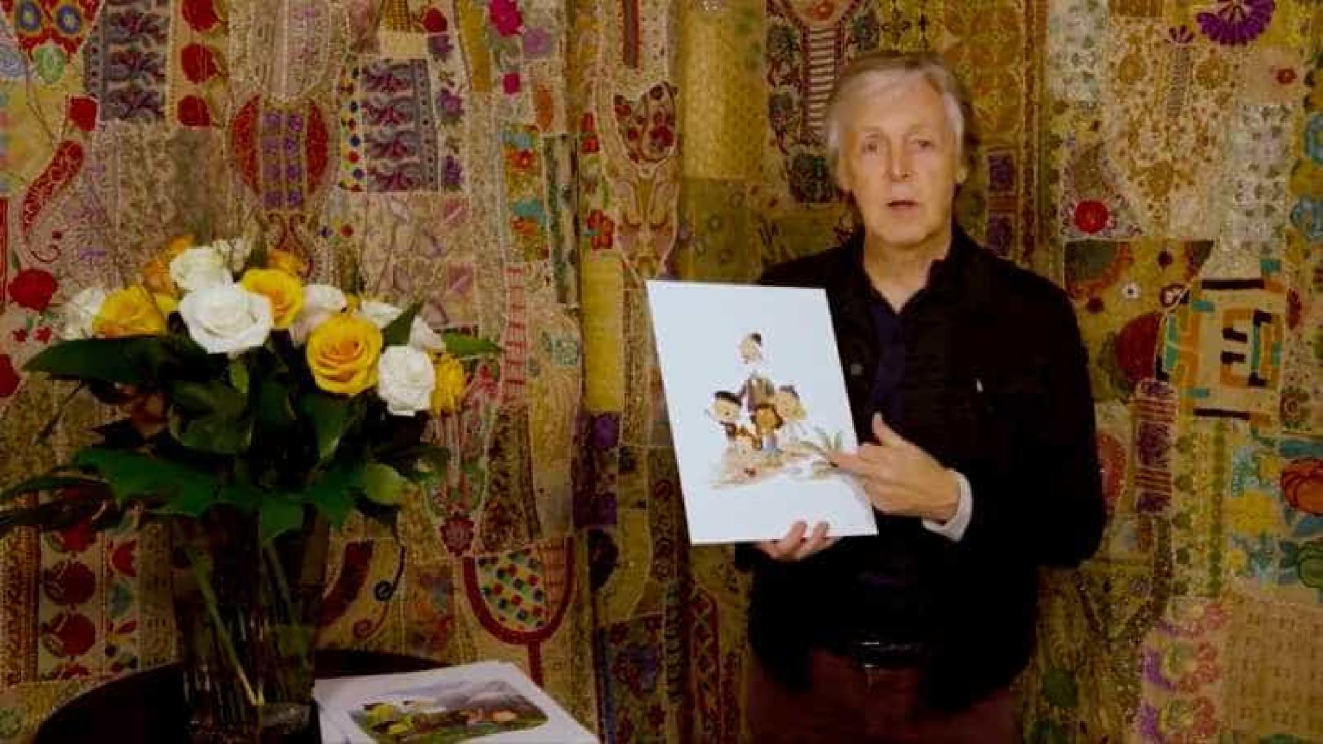 Paul McCartney faz livro infantil inspirado em sua experiência como avô