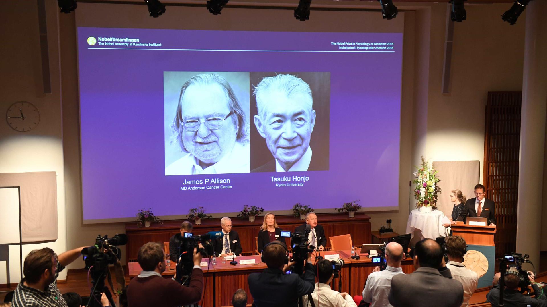 Terapia contra o câncer vence Nobel de Medicina de 2018