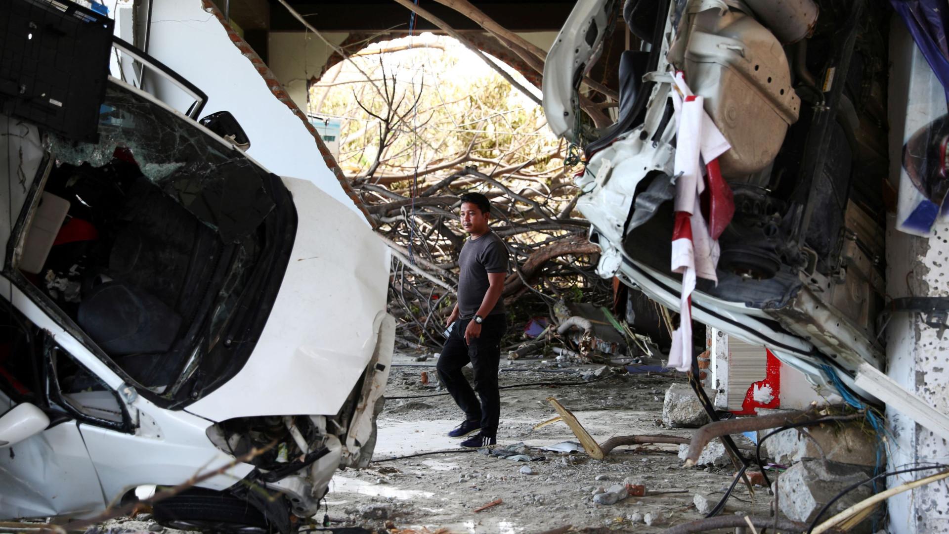 Indonésia estende operações de resgate após sismo a pedido de moradores