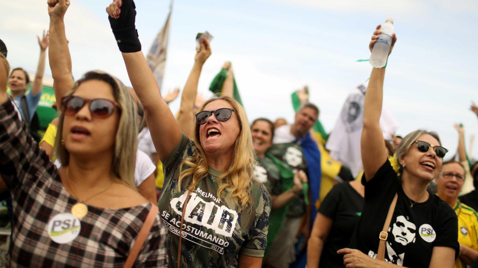 Bolsonaro lidera entre eleitores brancos e Haddad entre pardos e pretos