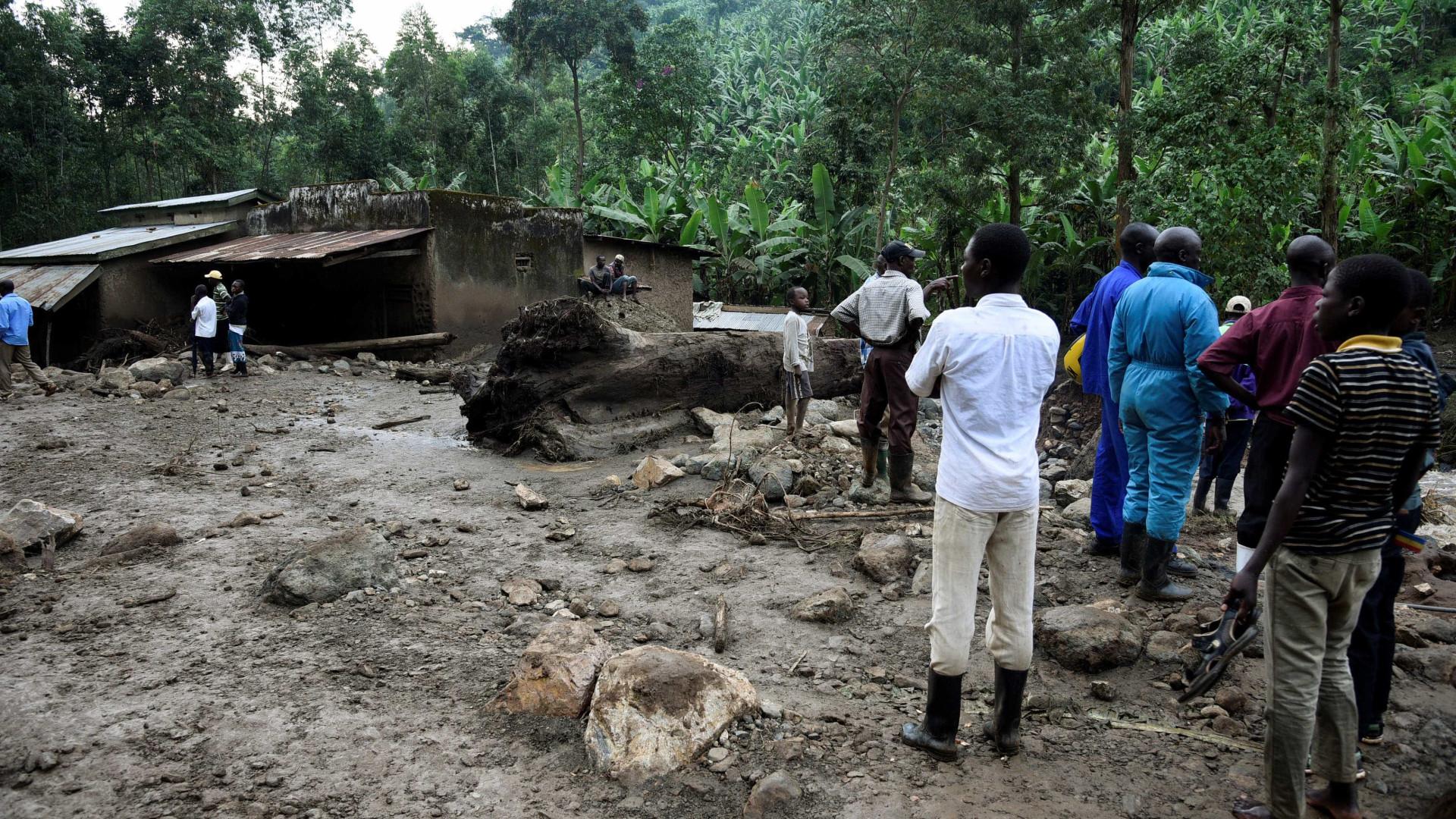 Deslizamento de terra deixa pelo menos 40 mortos em Uganda