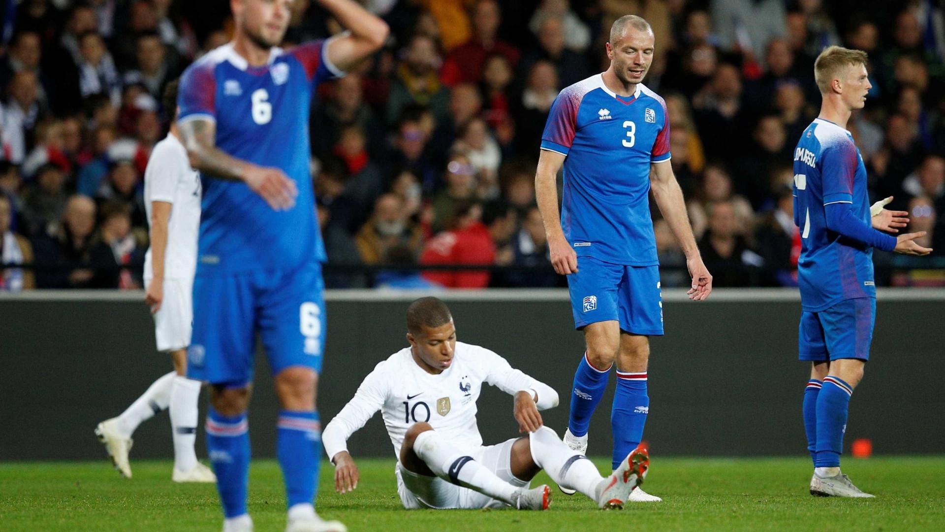 Com liga parada pela neve, Islândia vive dias difíceis após a Copa