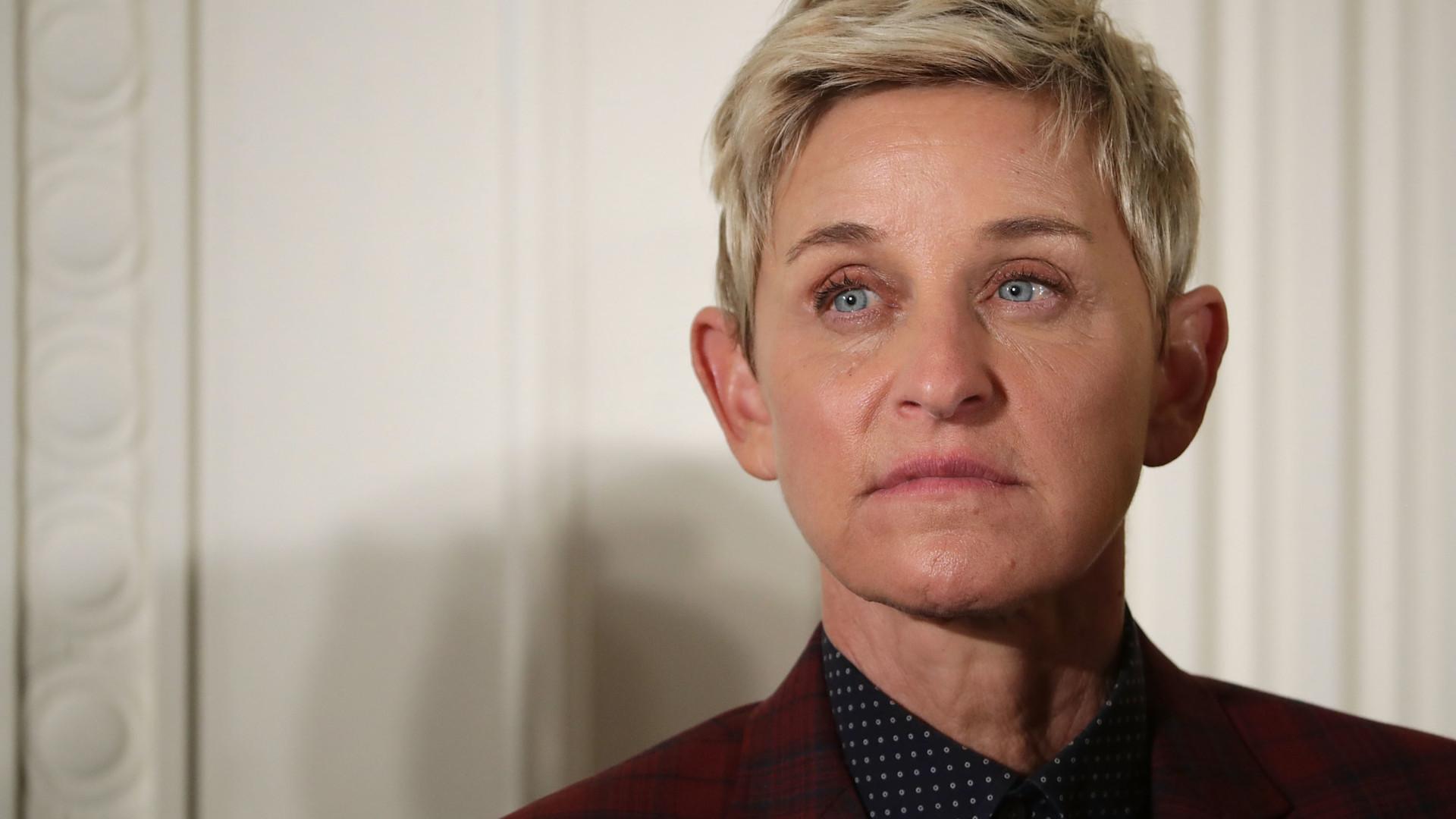 Ellen DeGeneres fala sobre os abusos sexuais que sofreu na infância