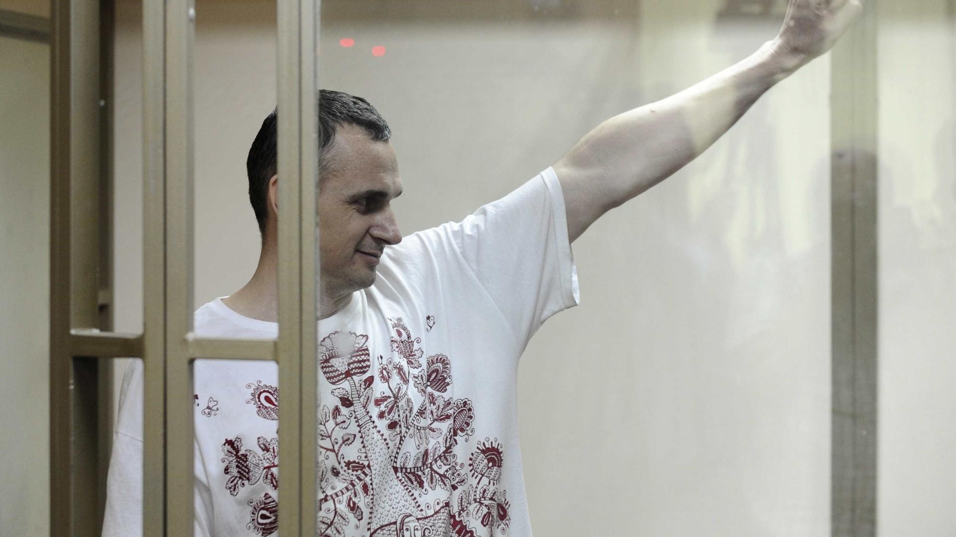 Cineasta preso na Rússia vence Prêmio Sakharov 2018