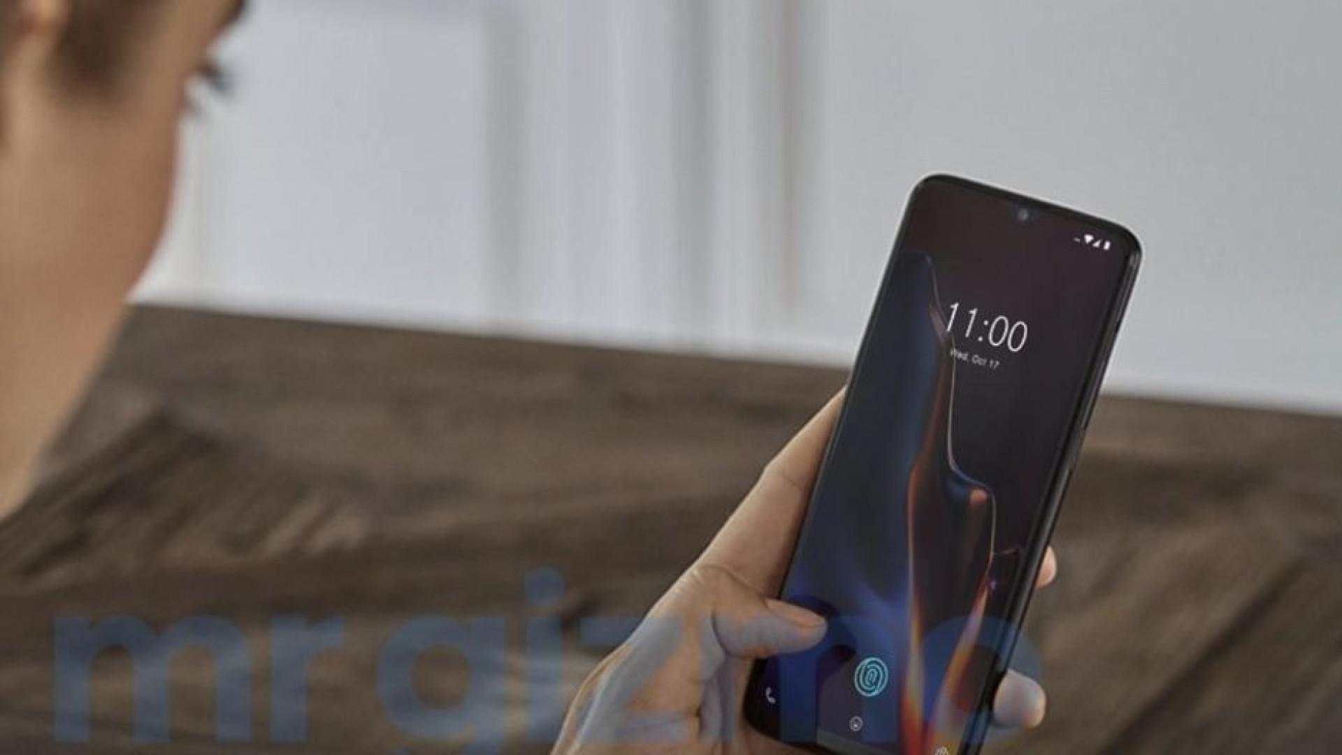 Detalhes e imagens do OnePlus 6T são revelados