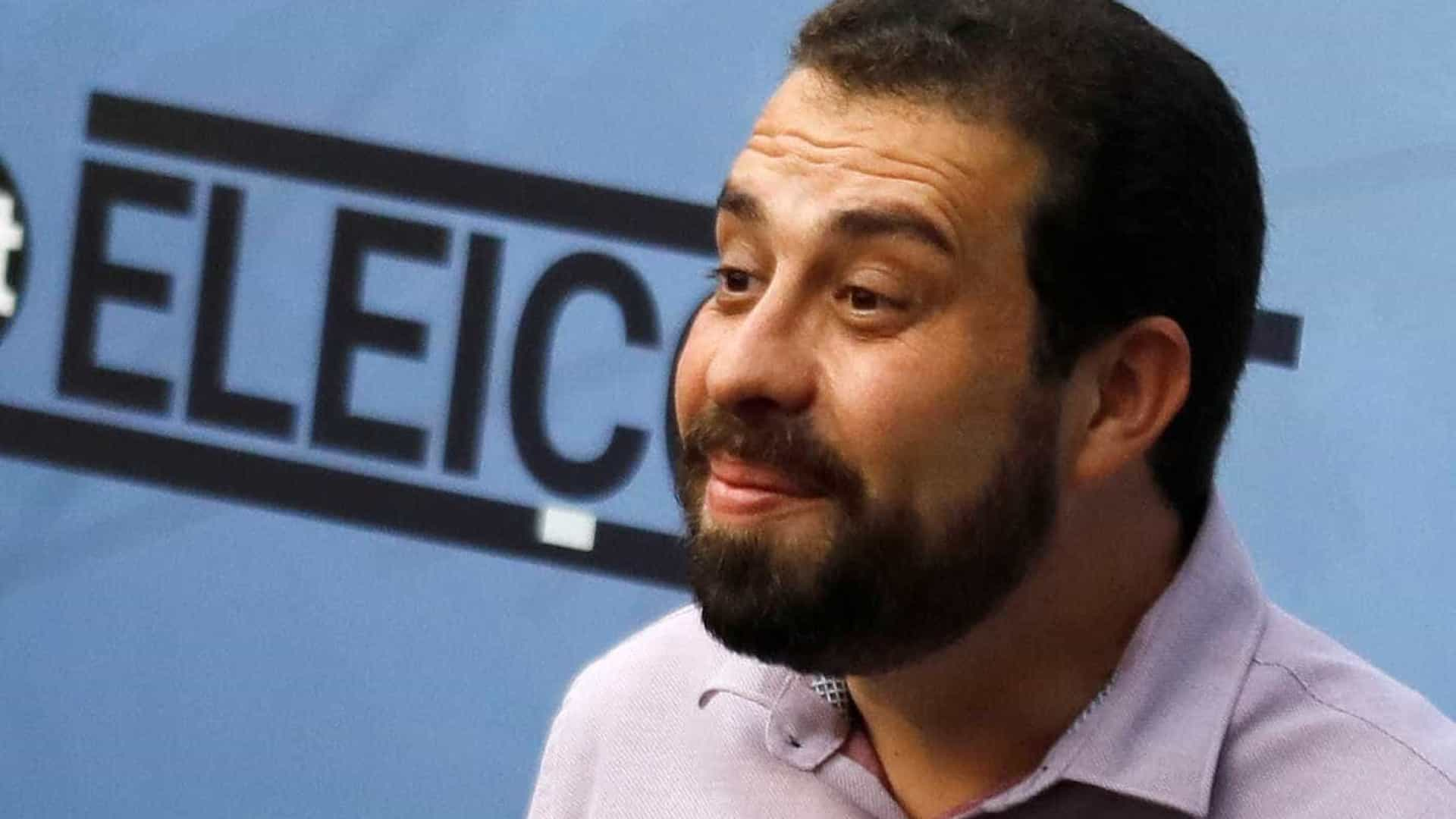 Guilherme Boulos testa positivo para covid-19