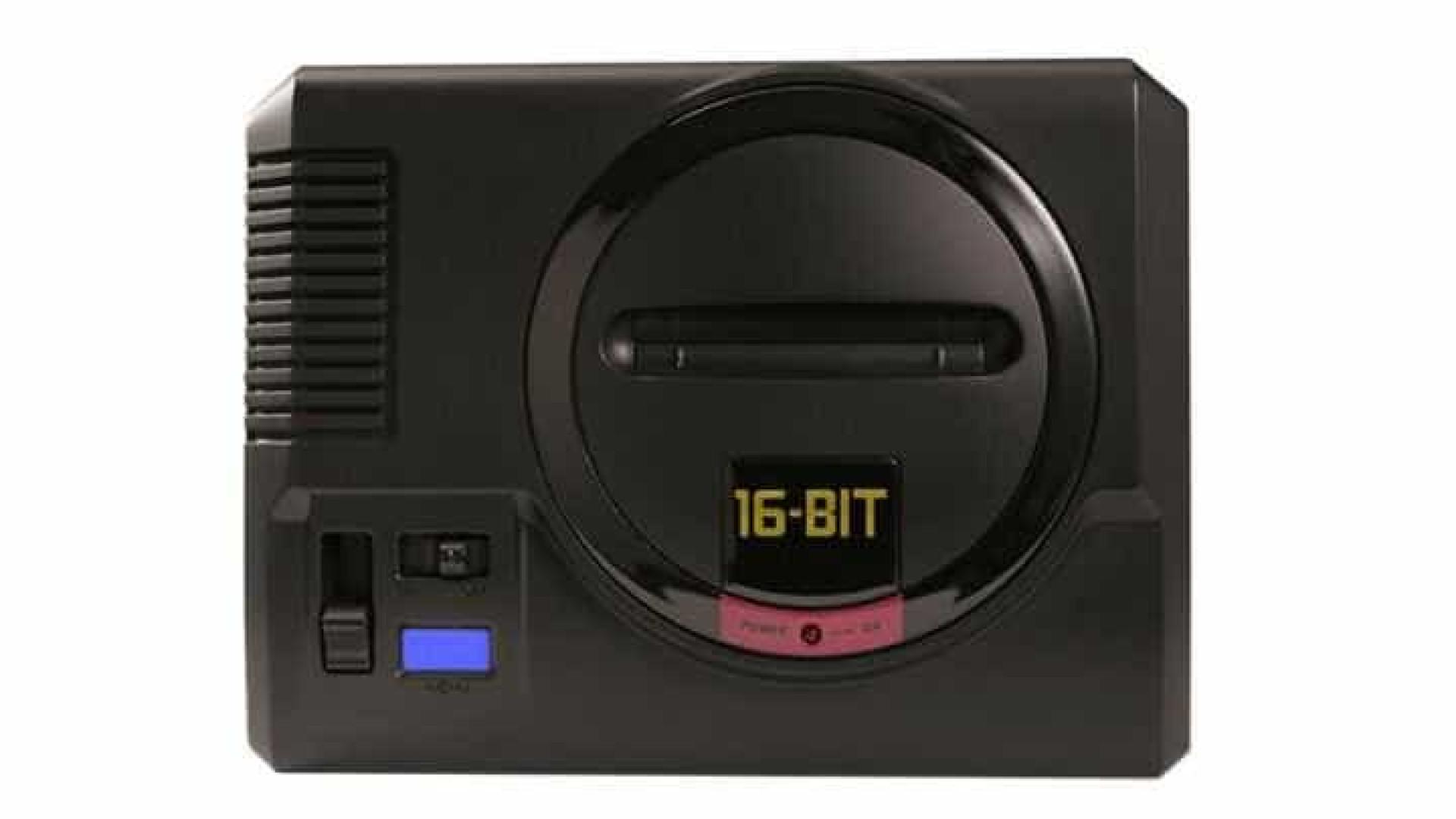 Clássico de 1990, Mega Drive completa 30 anos e ganha versão mini
