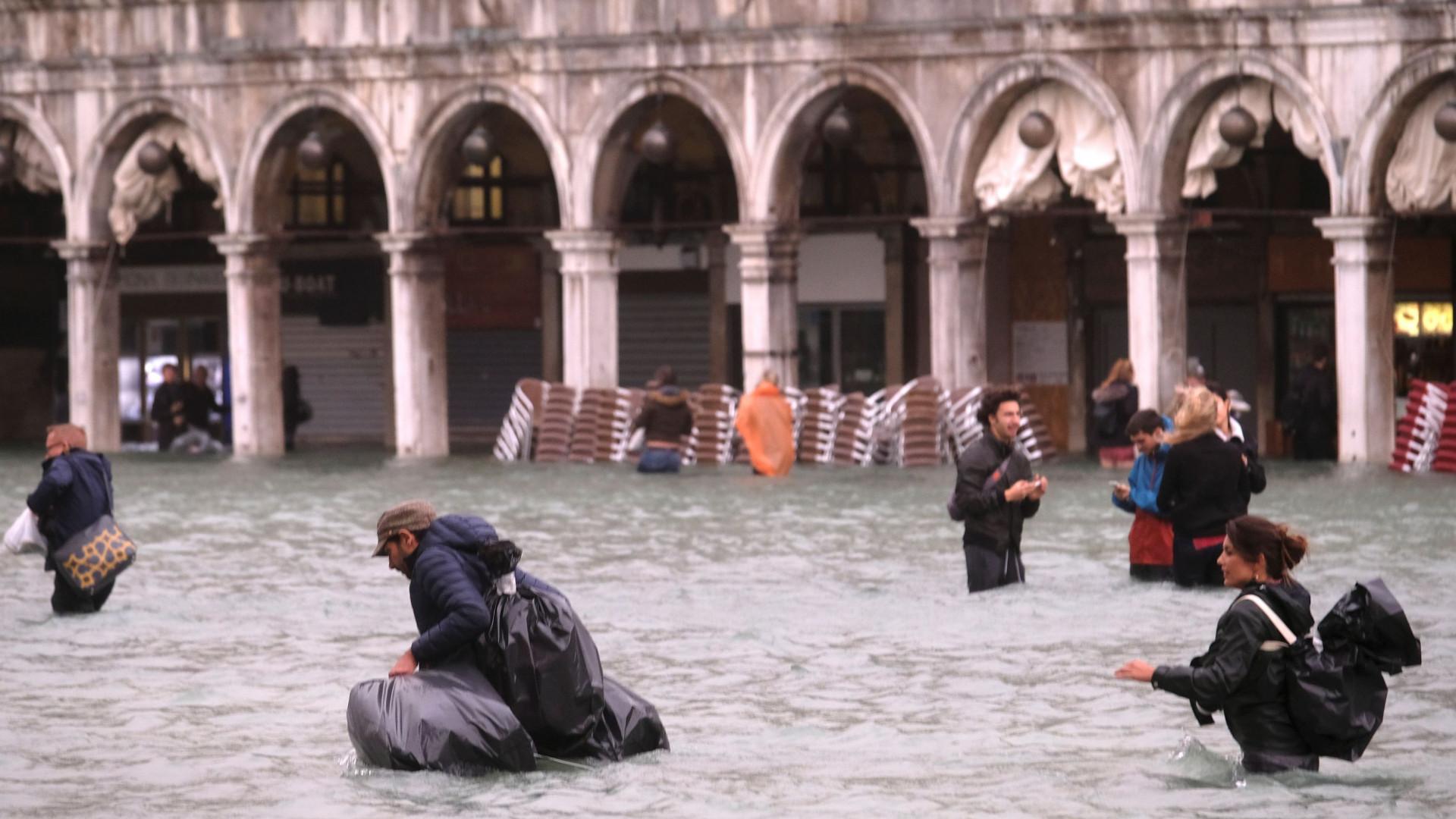 Mais de dez regiões da Itália estão em alerta por mau tempo