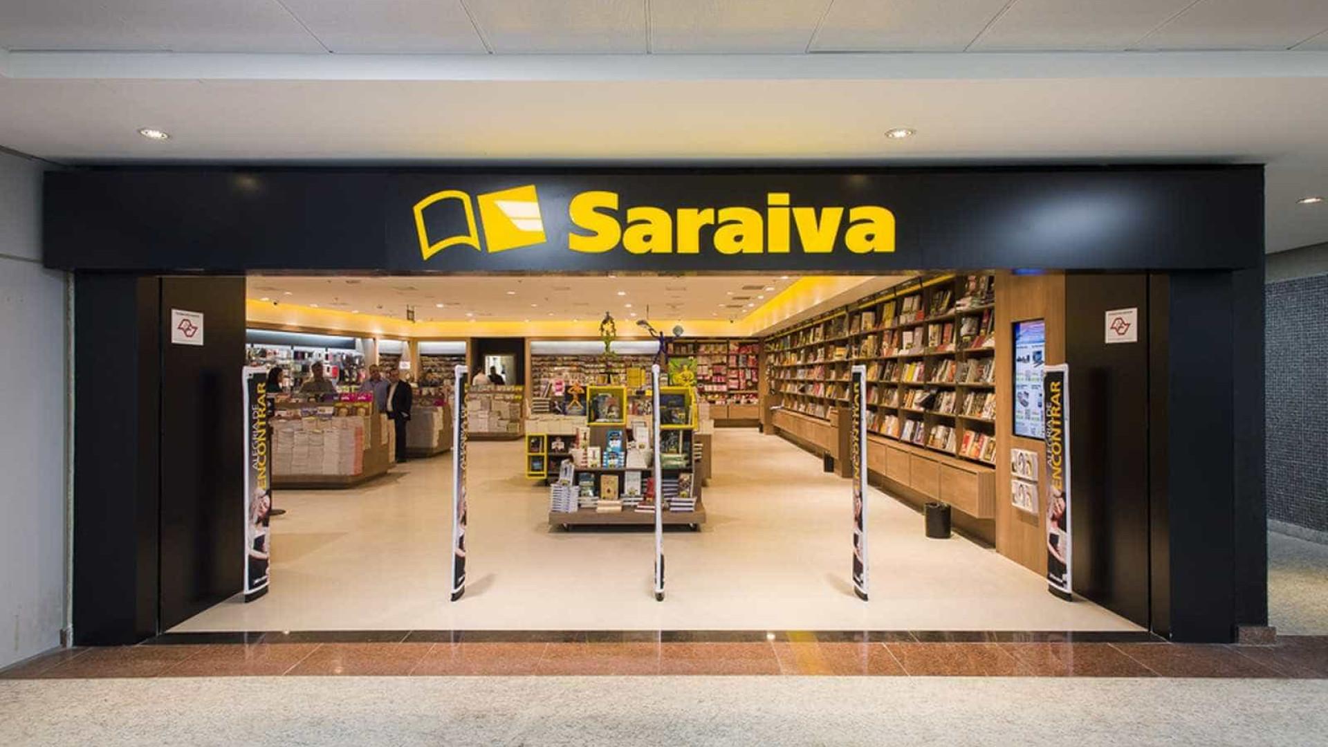 Saraiva deve devolver metade de seu estoque a editoras, decide Justiça