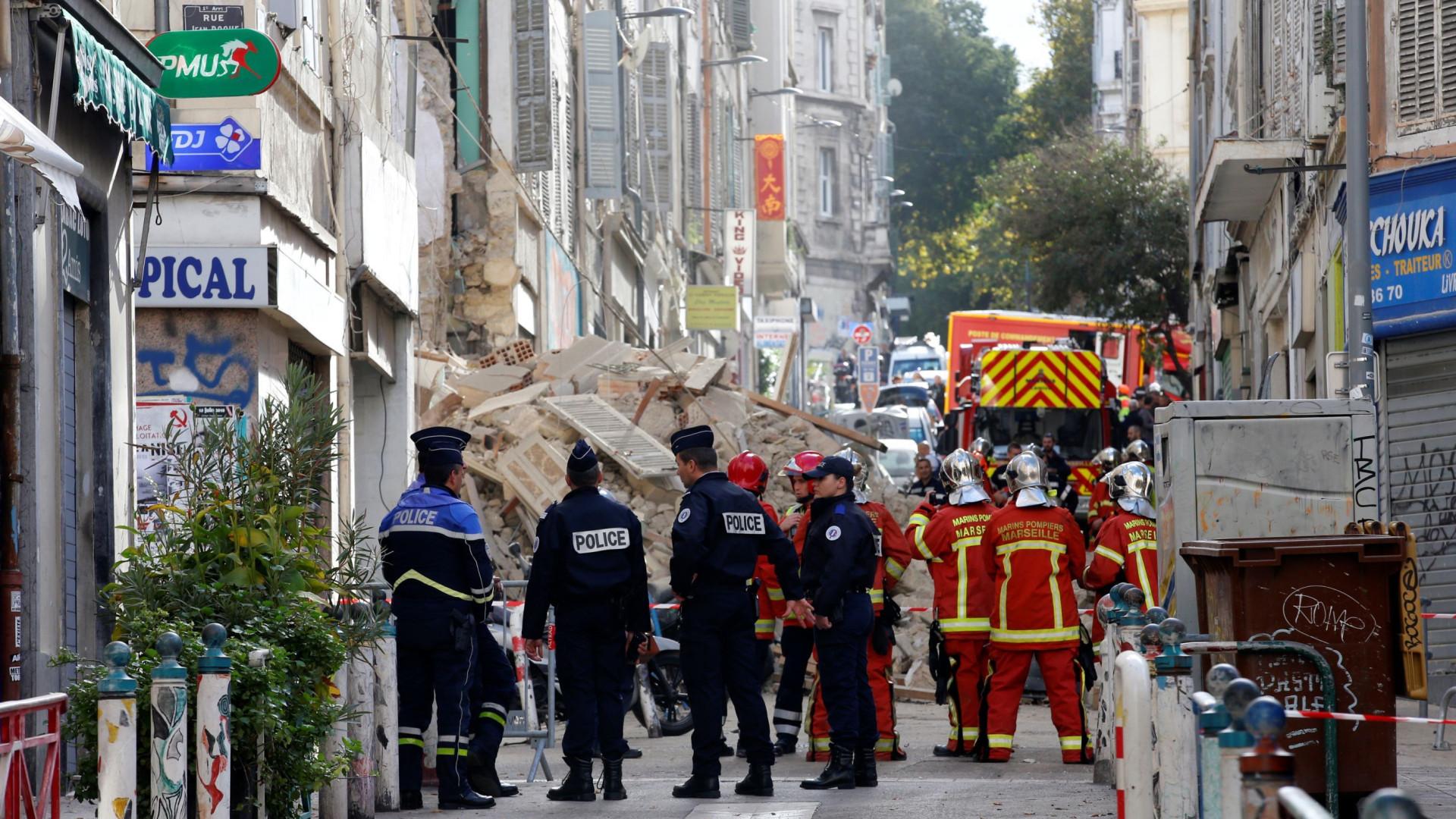 Marselha: sexto corpo é encontrado nos escombros de prédios que caíram