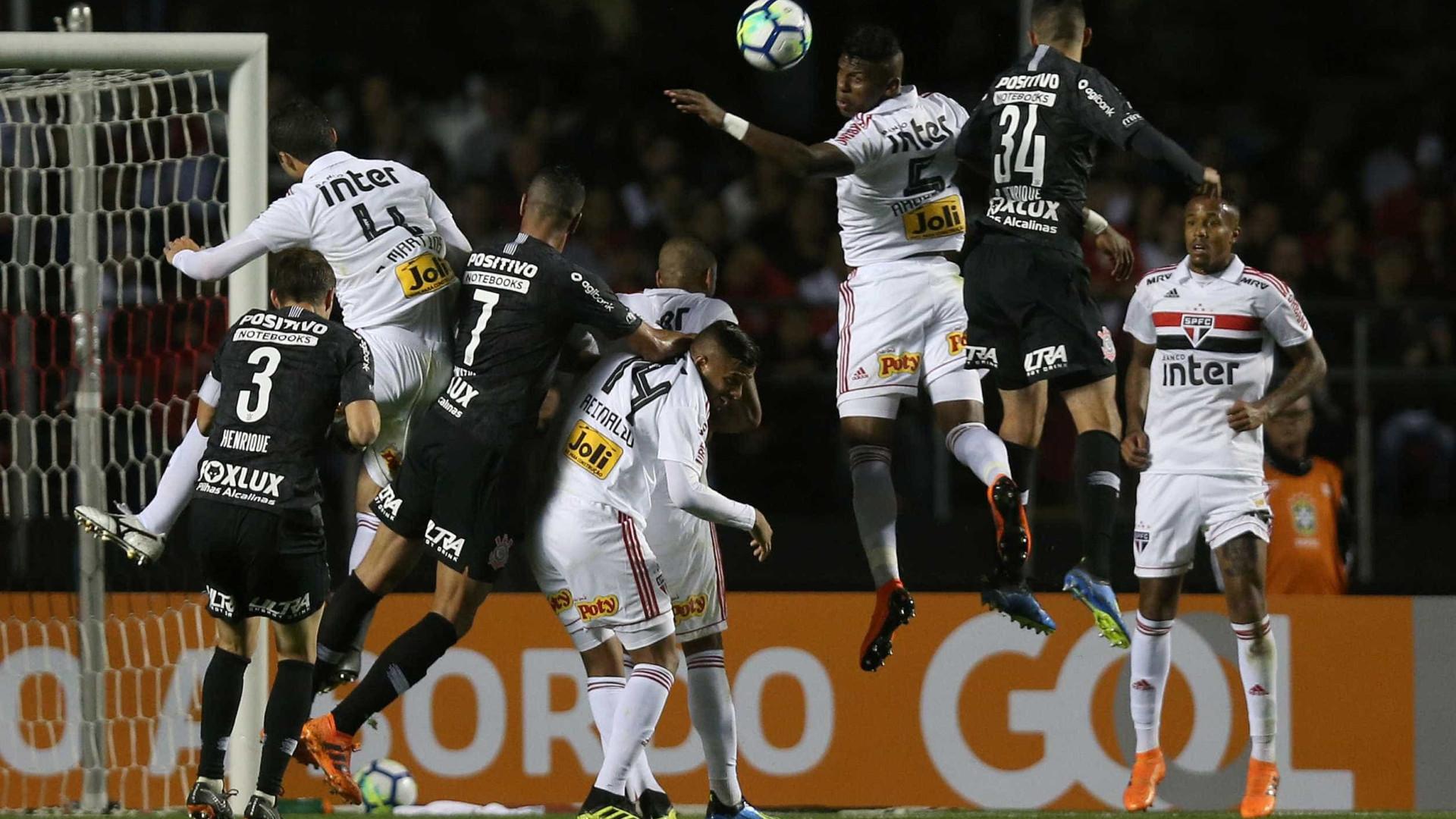 Corinthians e São Paulo se enfrentarão cinco vezes neste fim de semana