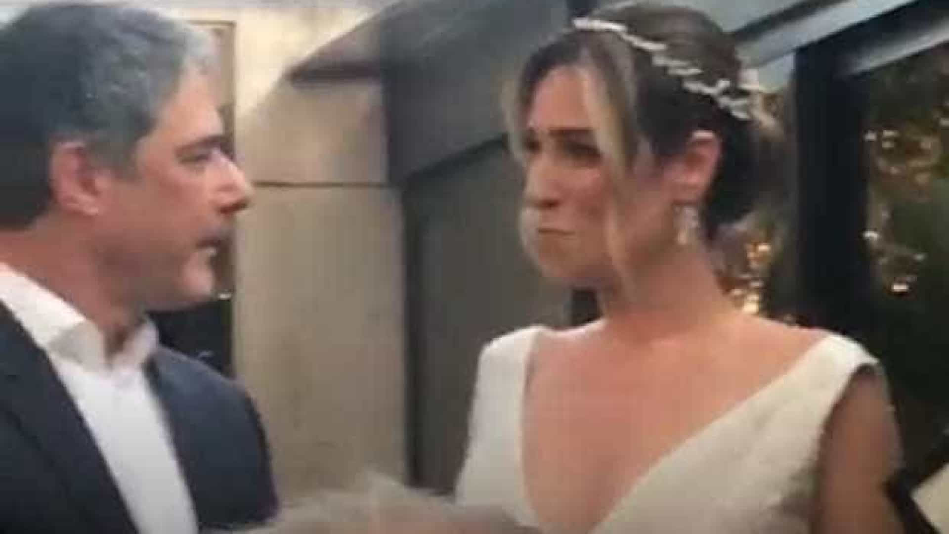 Bonner e Natasha fazem nova festa de casamento em dois meses
