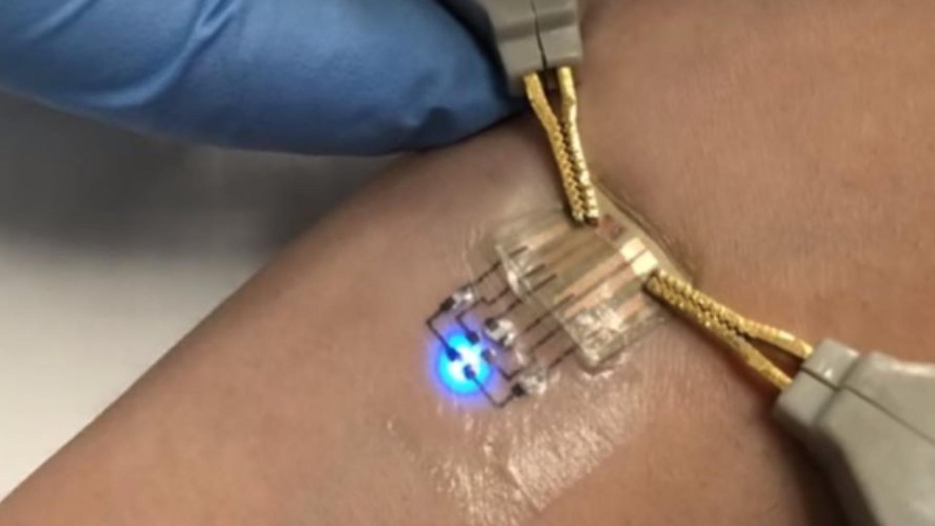 Novo método produz tatuagens eletrônicas a baixo custo