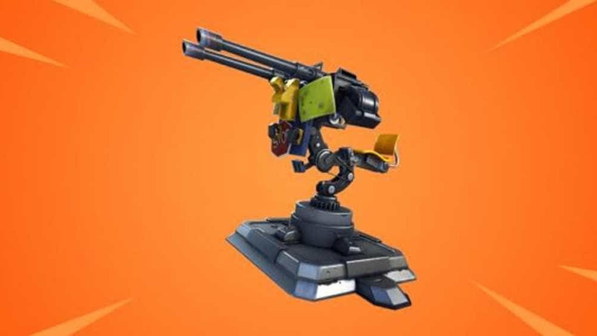 Fortnite Battle Royale vai receber nova arma, a torreta montada