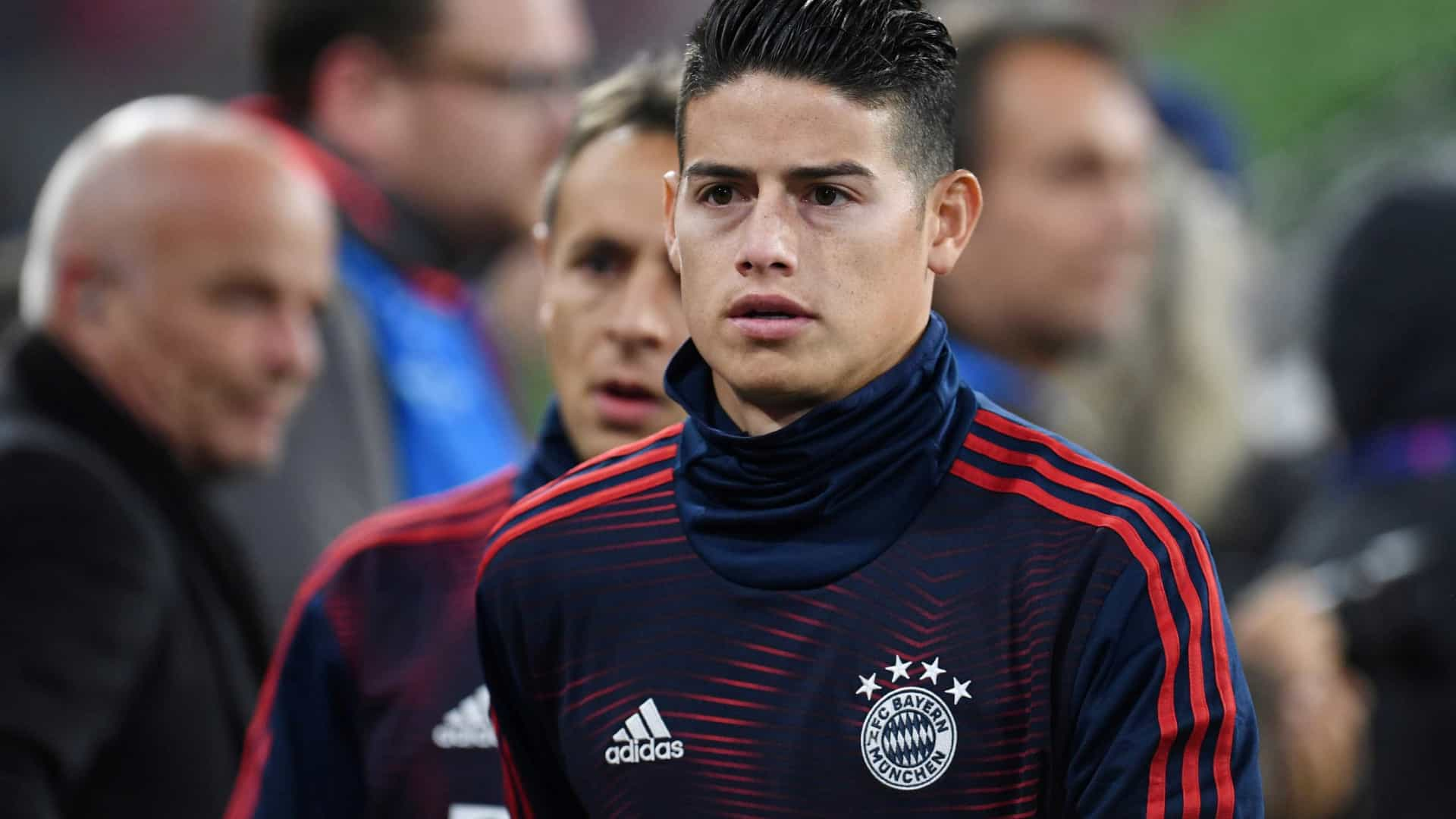 James Rodríguez deixa o Bayern de Munique