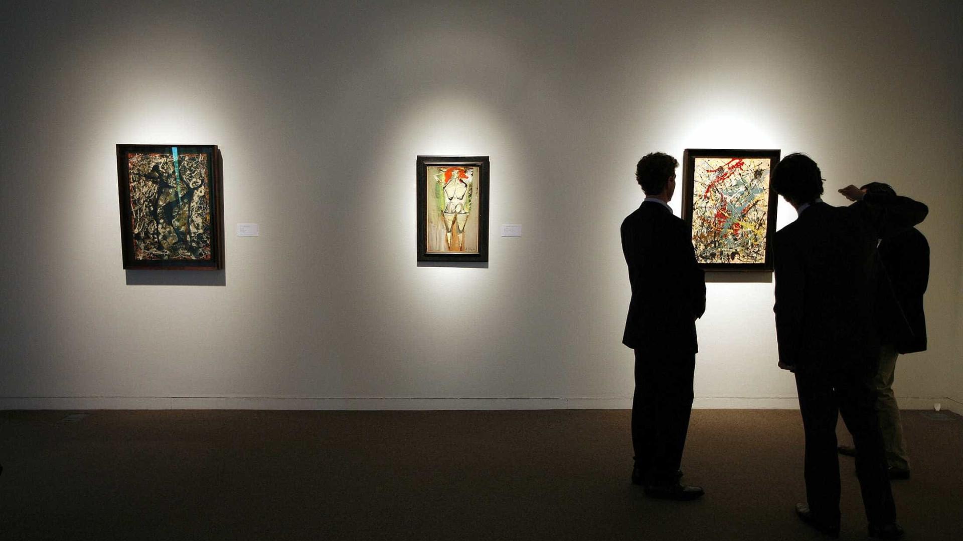 Pollock não atinge valor mínimo em leilão e MAM deixa de vender tela
