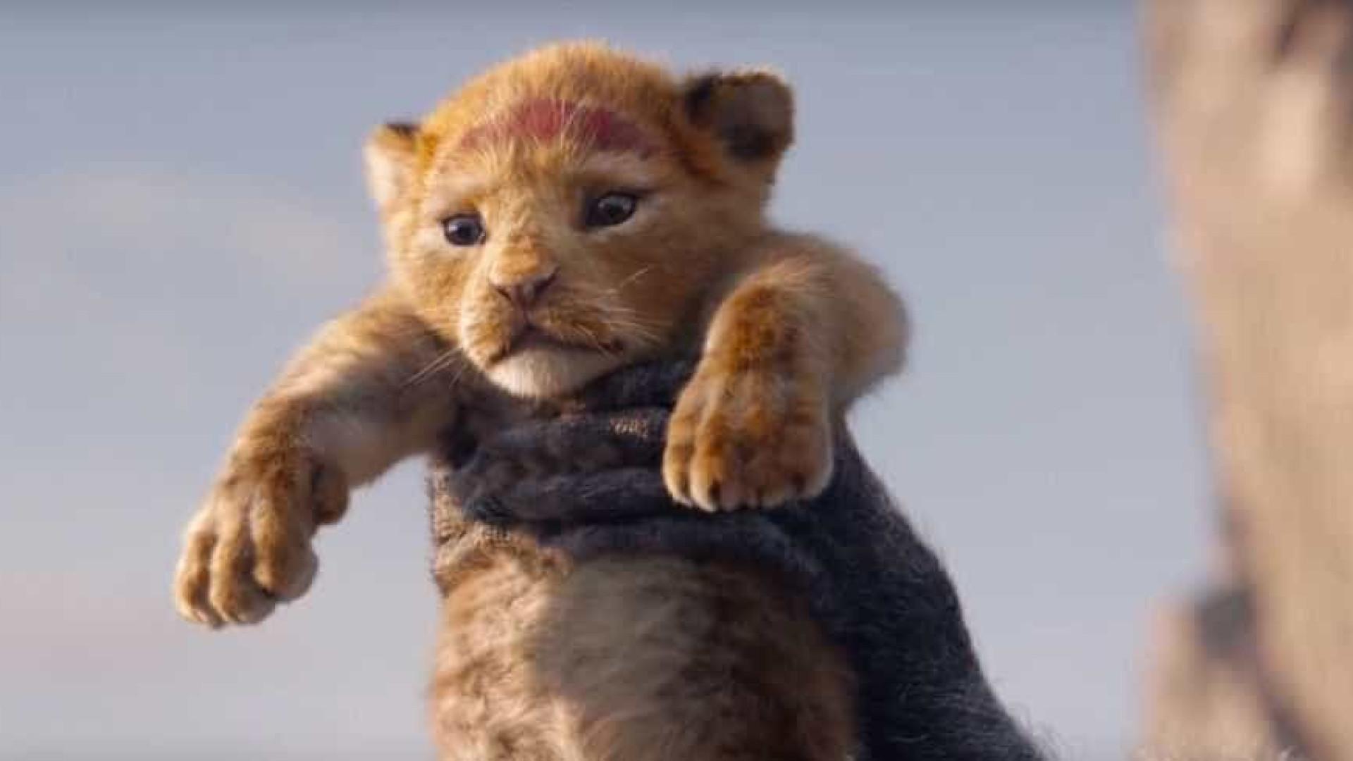 Trailer de 'Rei Leão' se torna o mais visto da Disney em apenas um dia