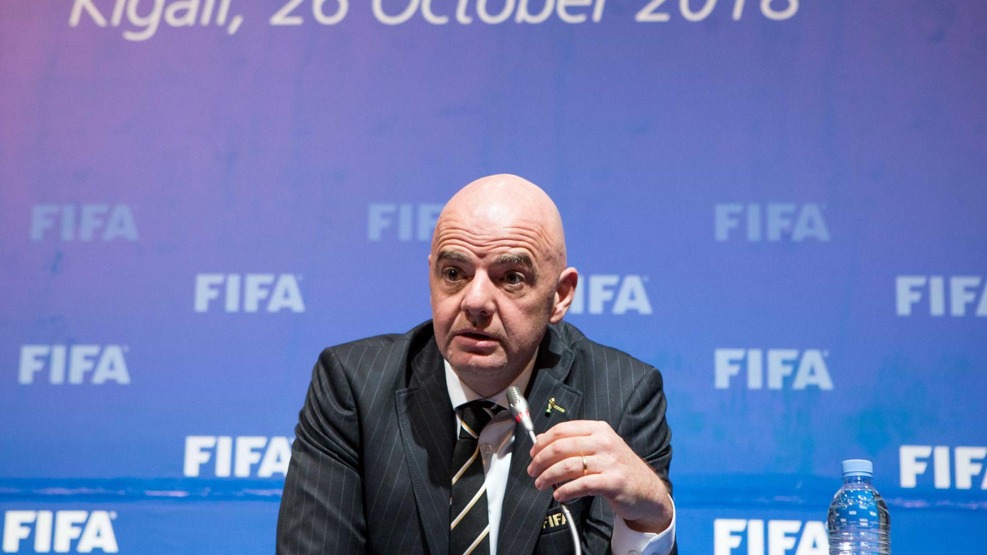 Suíça abre processo criminal contra Infantino, presidente da Fifa