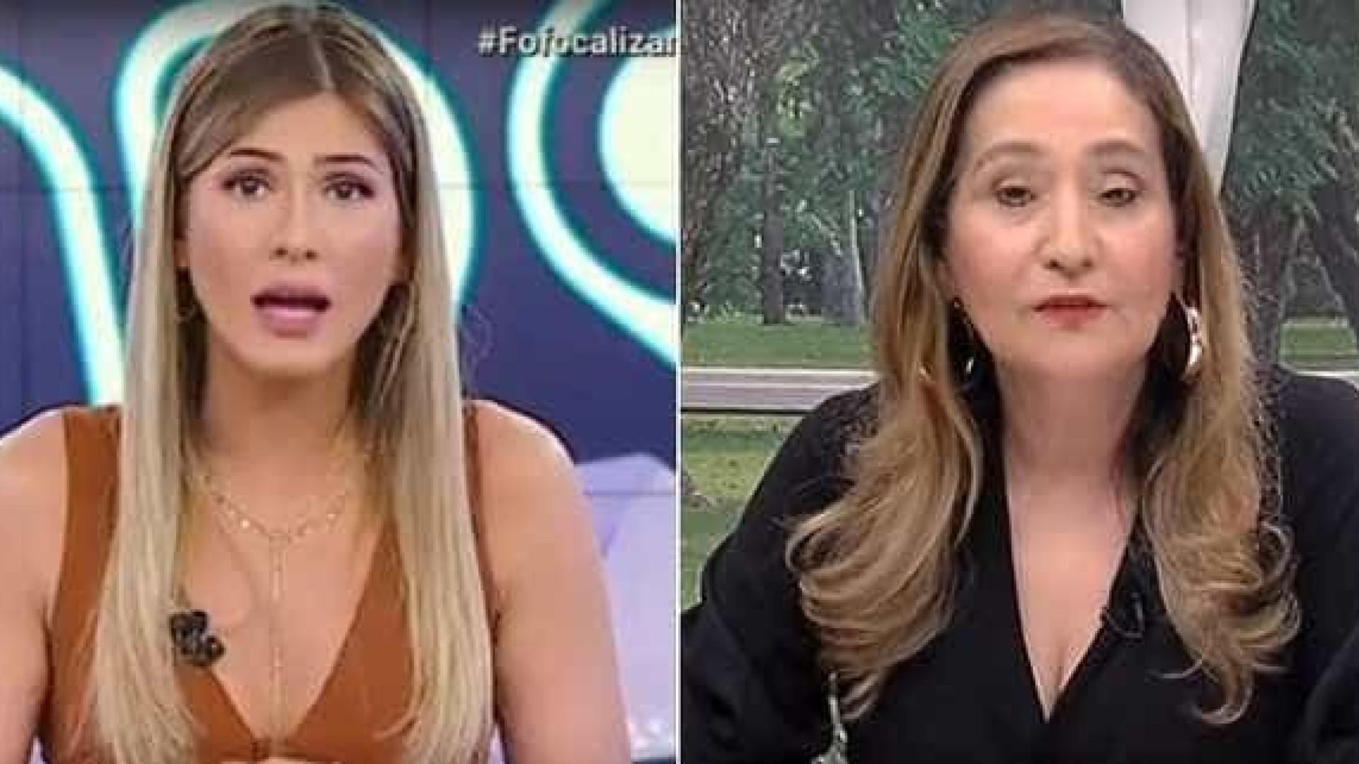 Lívia Andrade briga com Sonia Abrão por defender Mara: 'Coveira'