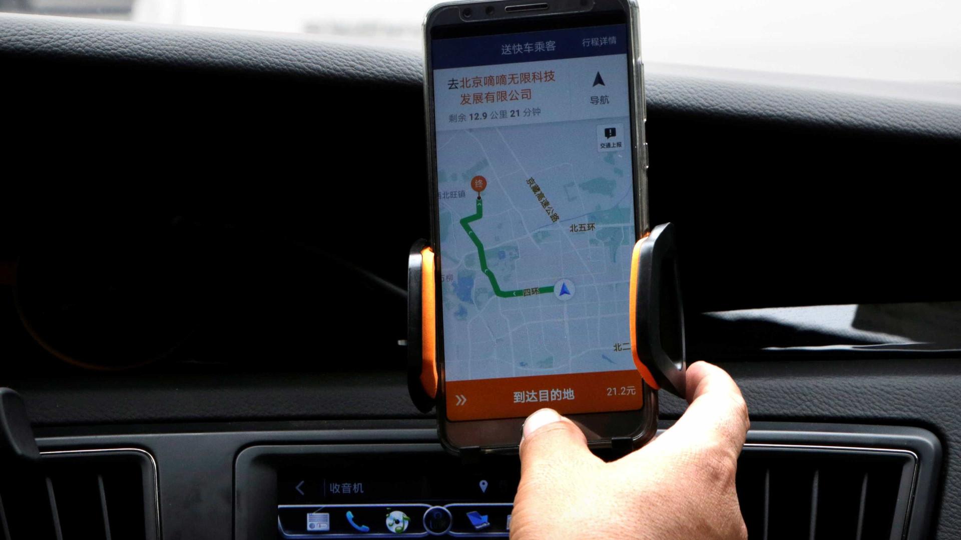China lança campanha para fiscalizar aplicativo de transporte Didi