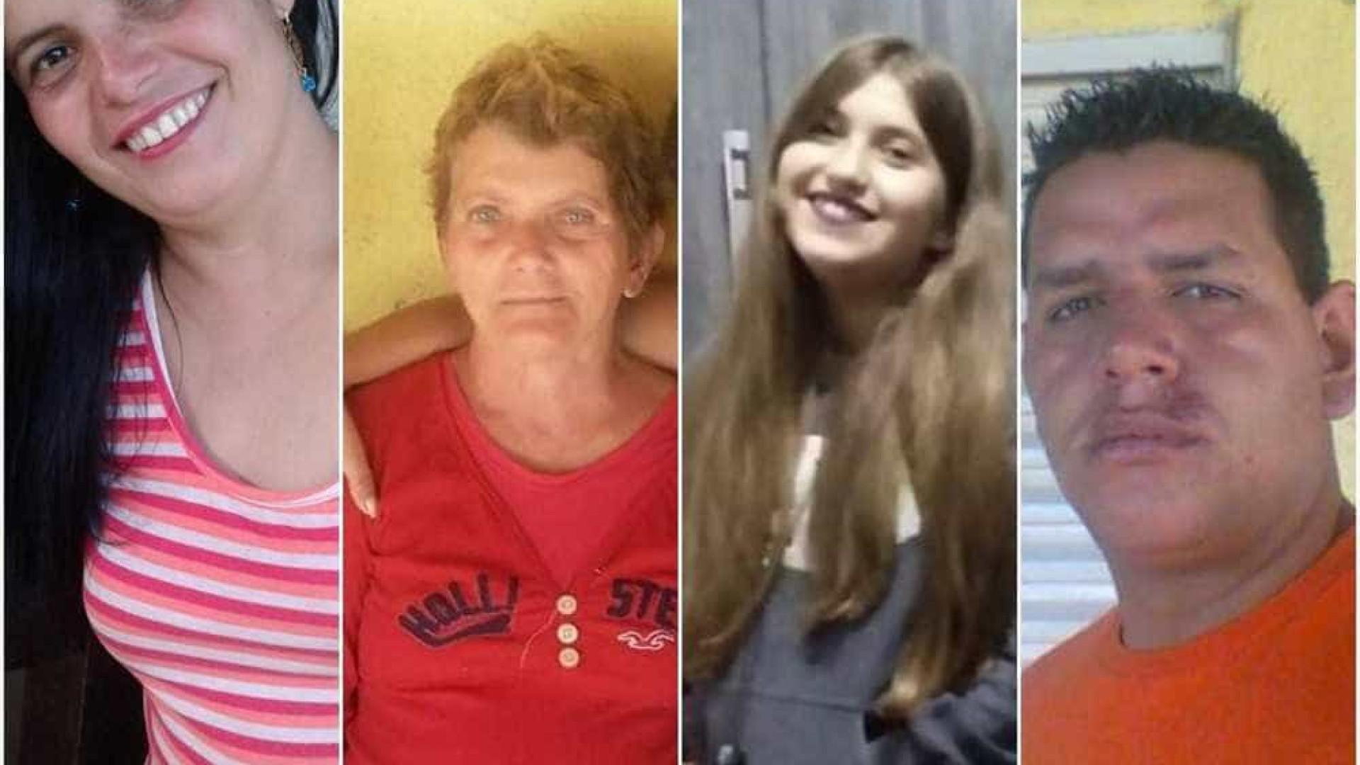 Seis pessoas da mesma família morrem em acidente na BR-179