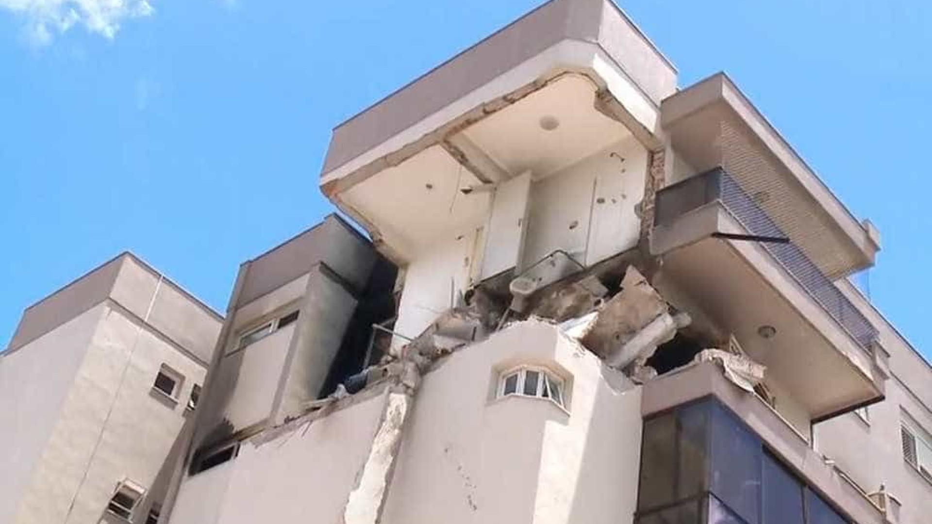 Explosão e incêndio em prédio deixam ao menos 15 feridos em Farroupilha