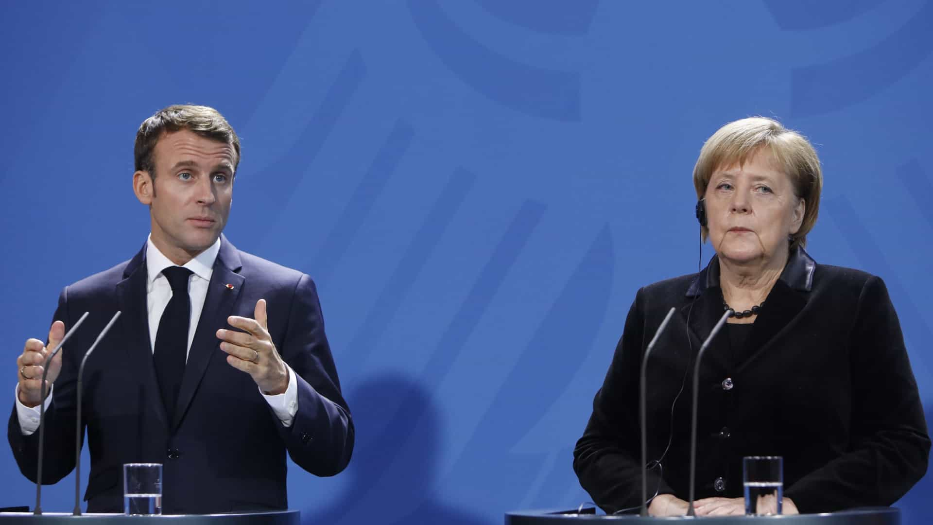 Merkel e Macron confiantes em acordo para aprovação no Conselho Europeu