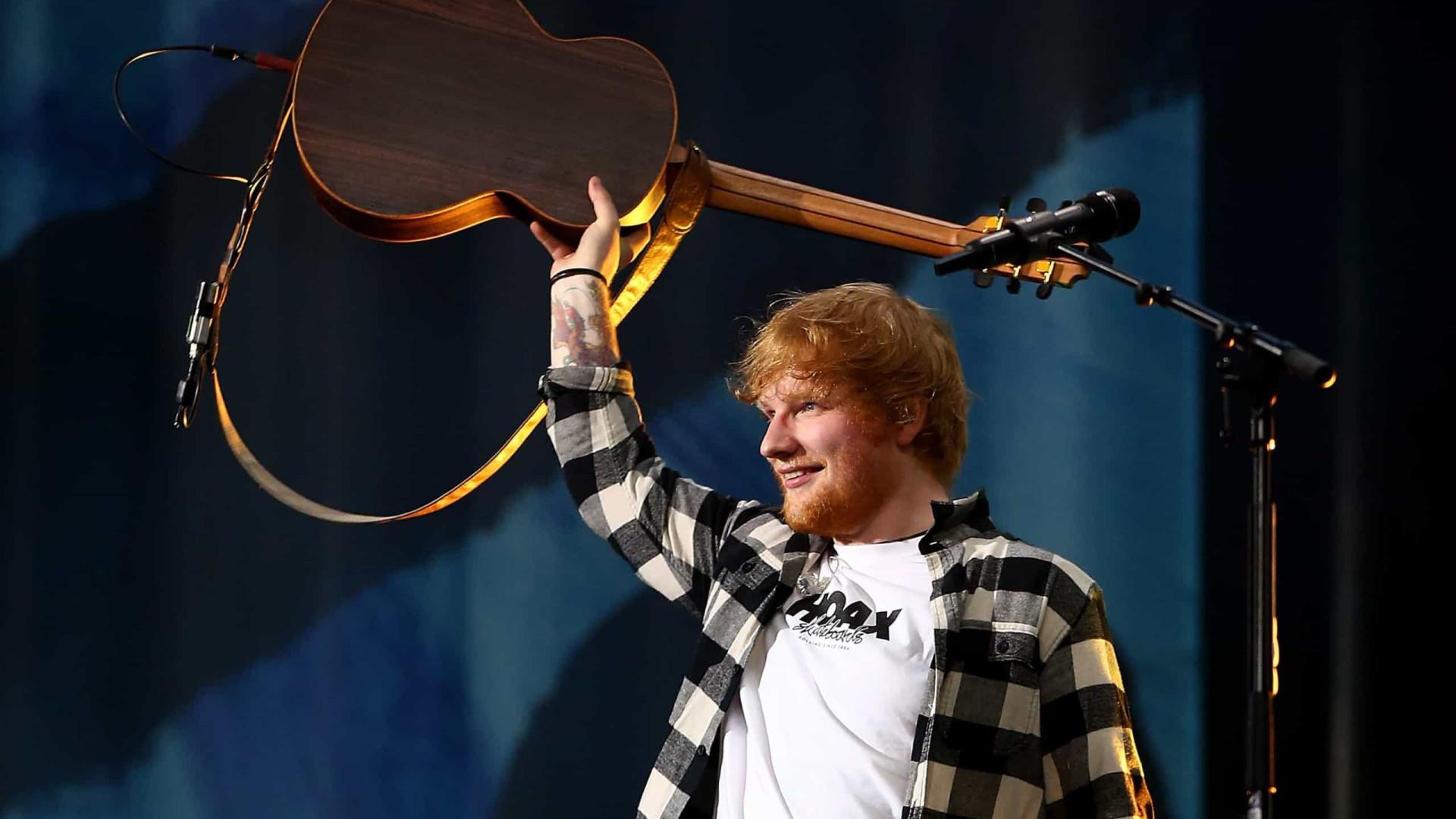 Ed Sheeran é a celebridade britânica mais rica com menos de 30 anos