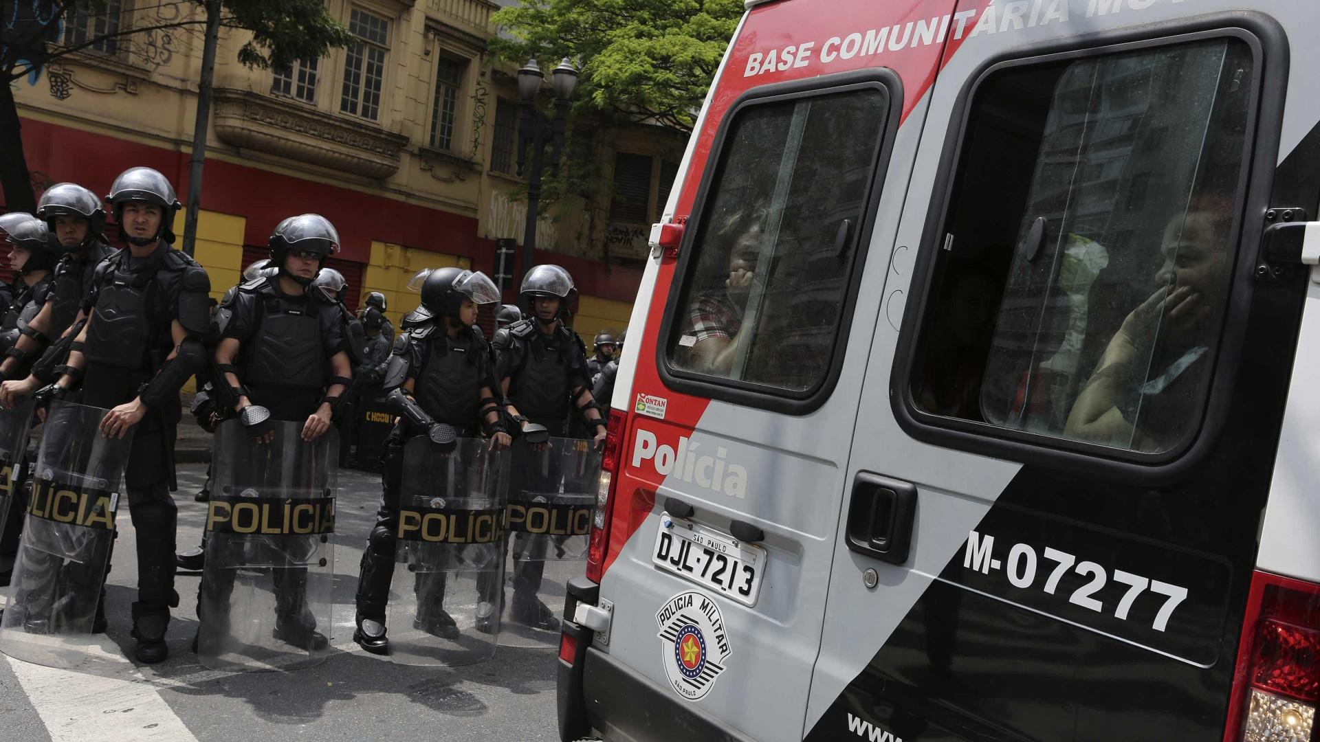 Nº de mortes em confrontos com policiais militares cresce 46% em março