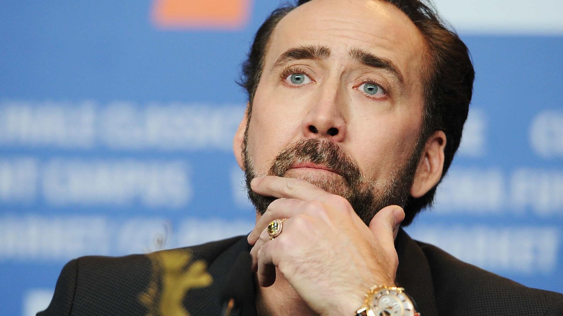 Nicolas Cage pede anulação de casamento quatro dias após cerimônia