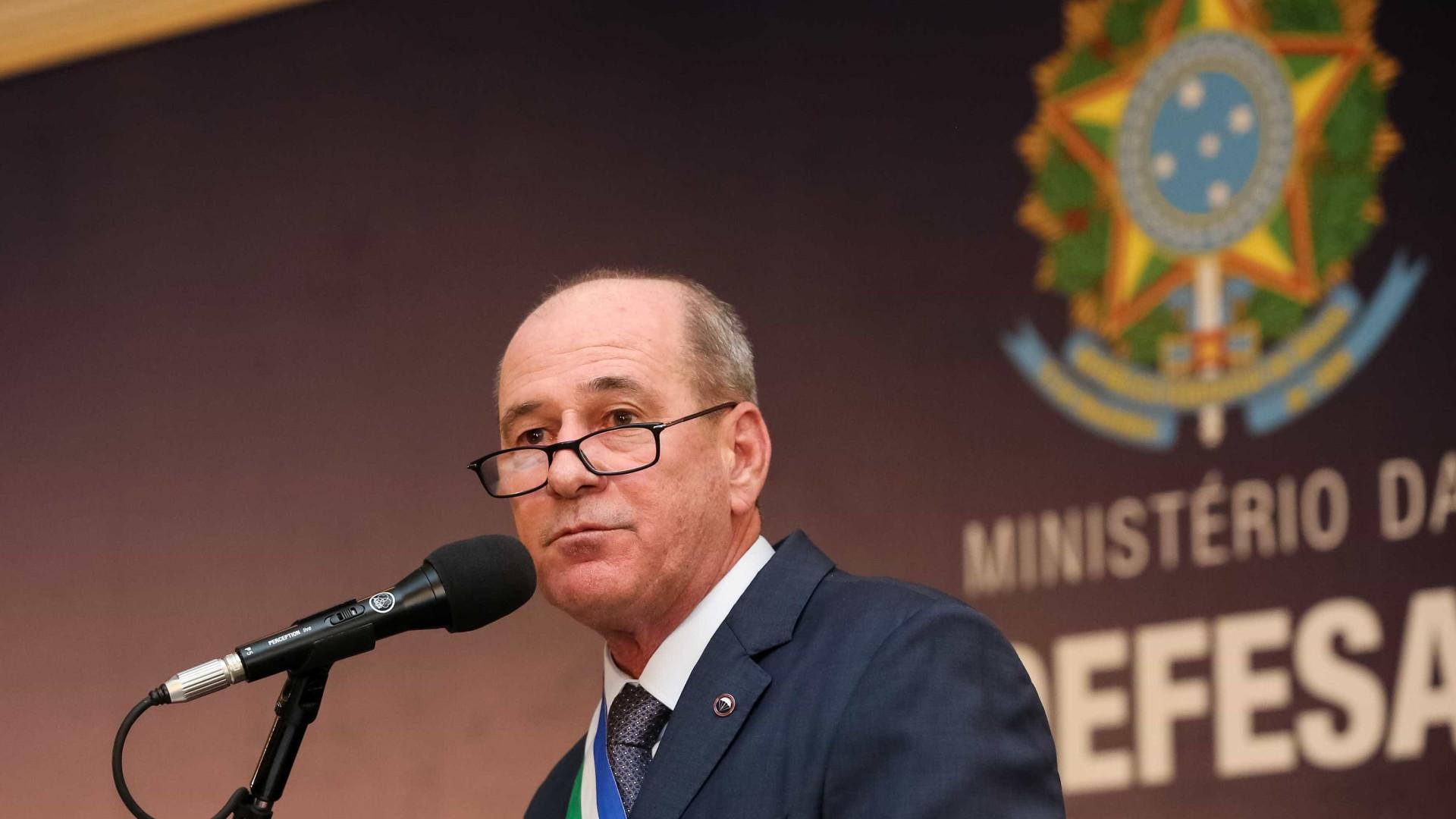 Ministro da Defesa Fernando Azevedo e Silva deixa o governo