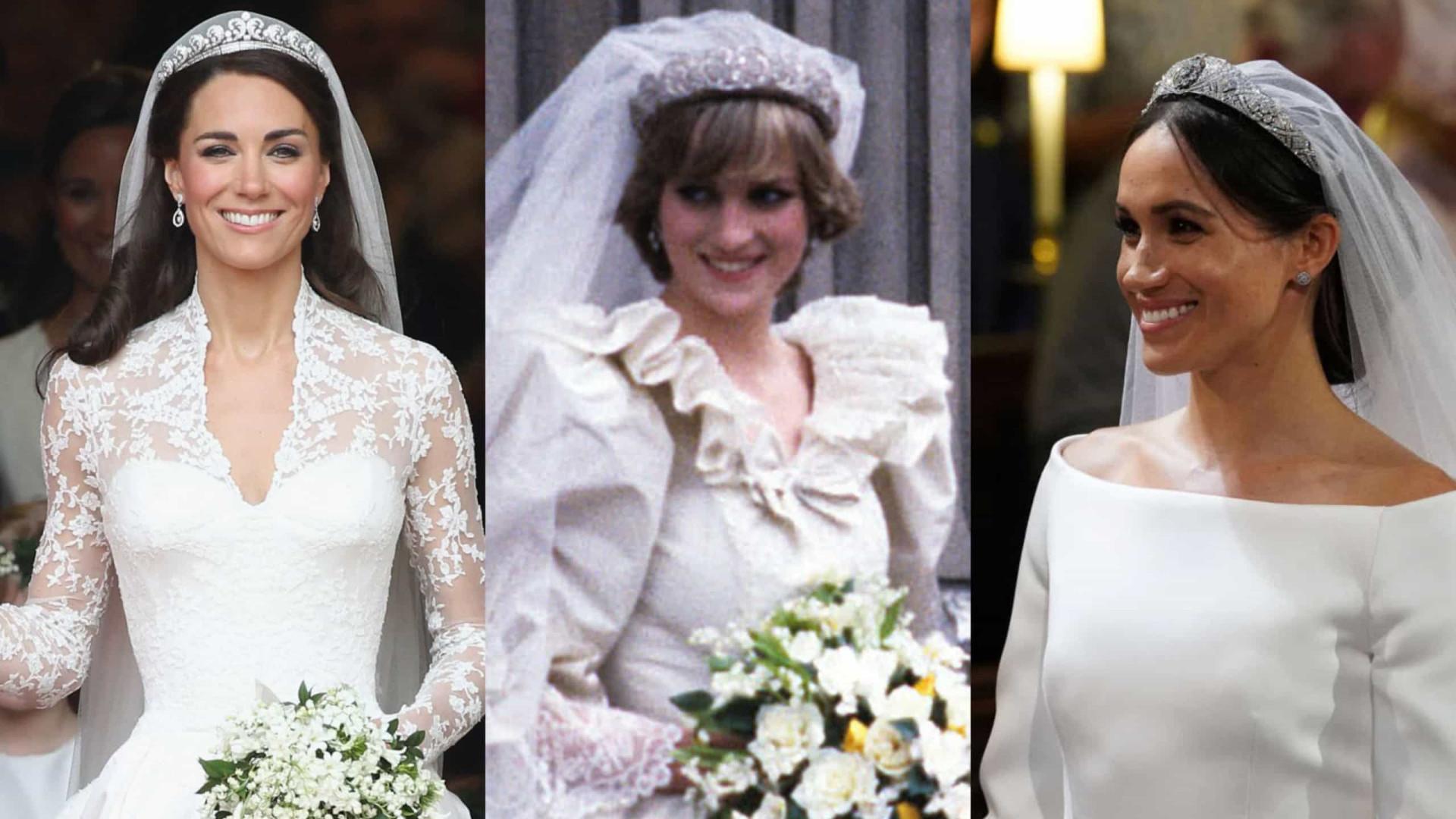 Os vestidos de noiva mais inspiradores da realeza!
