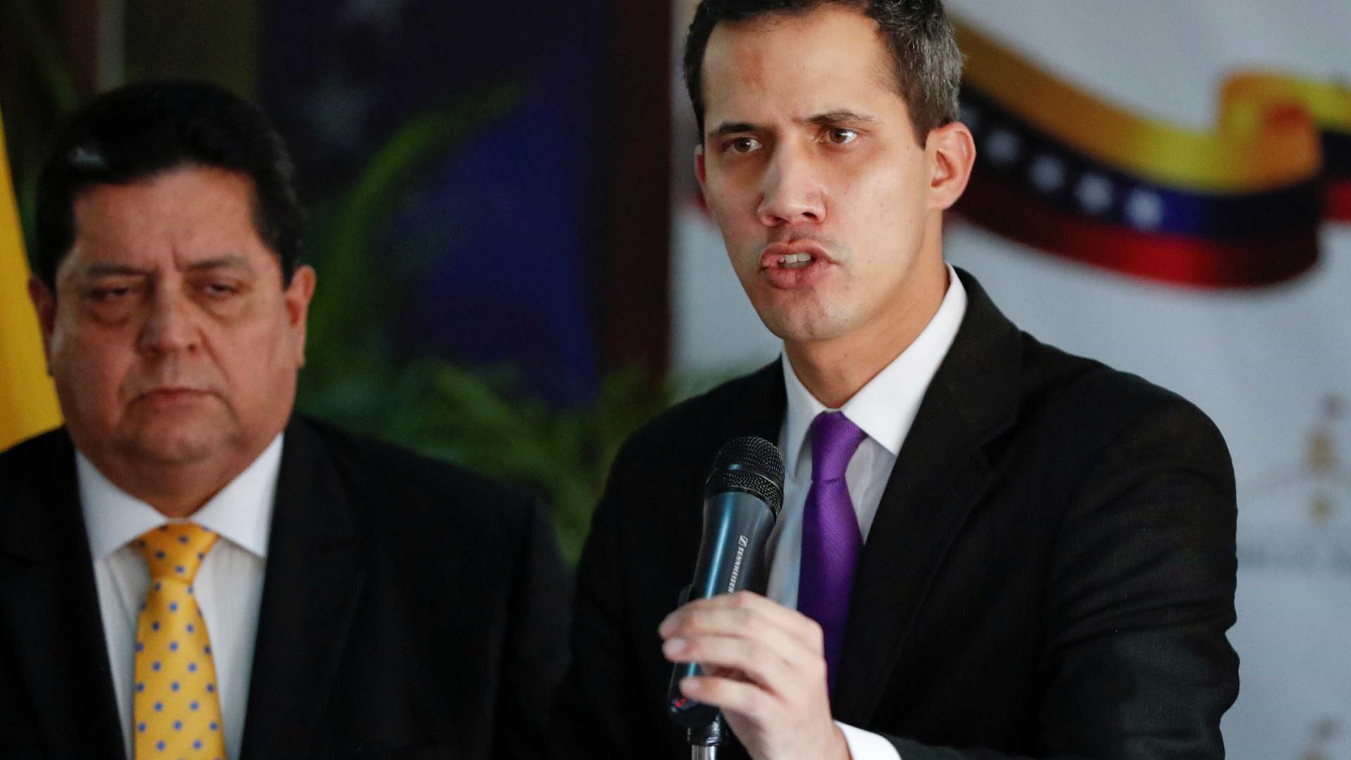Venezuela: Guaidó não descarta que assembleia aprove ação militar